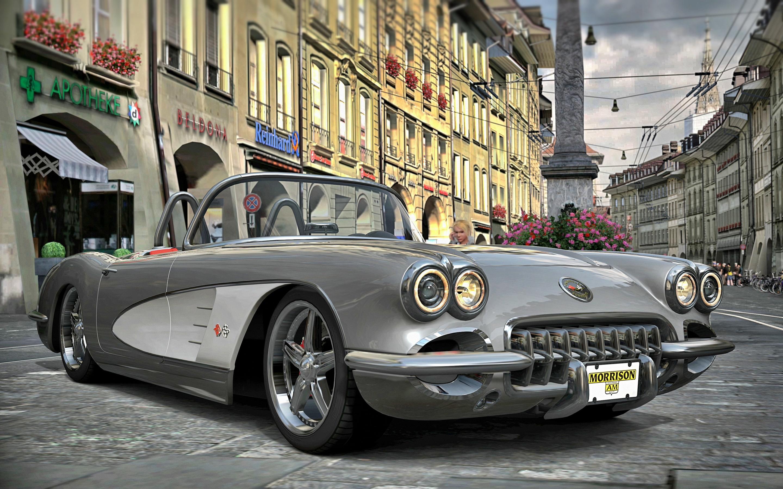 1958 vintage corvette