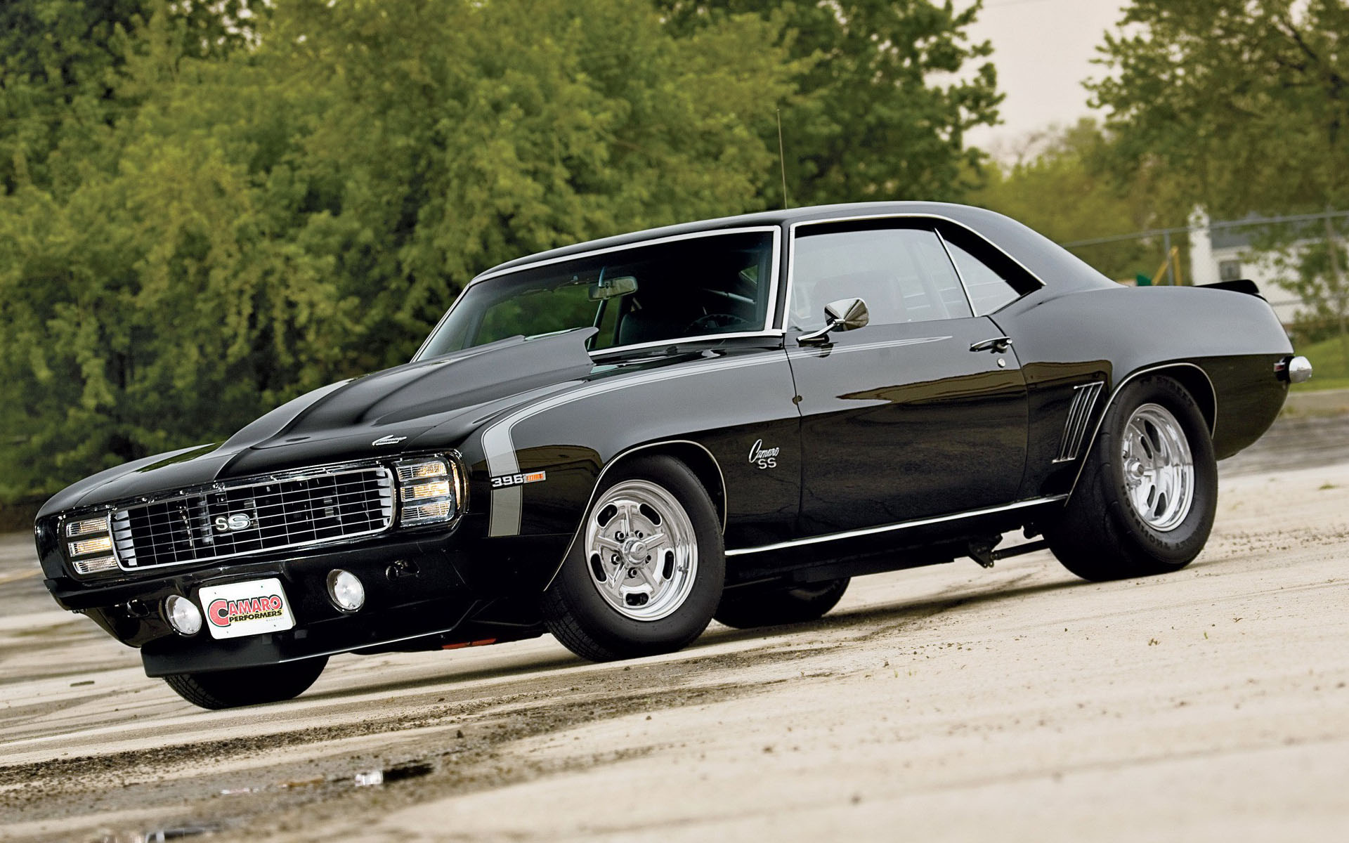 Car of the day – 1969 Custom Chevrolet Camaro SS 396 6.5-liter 1920×1200 HD