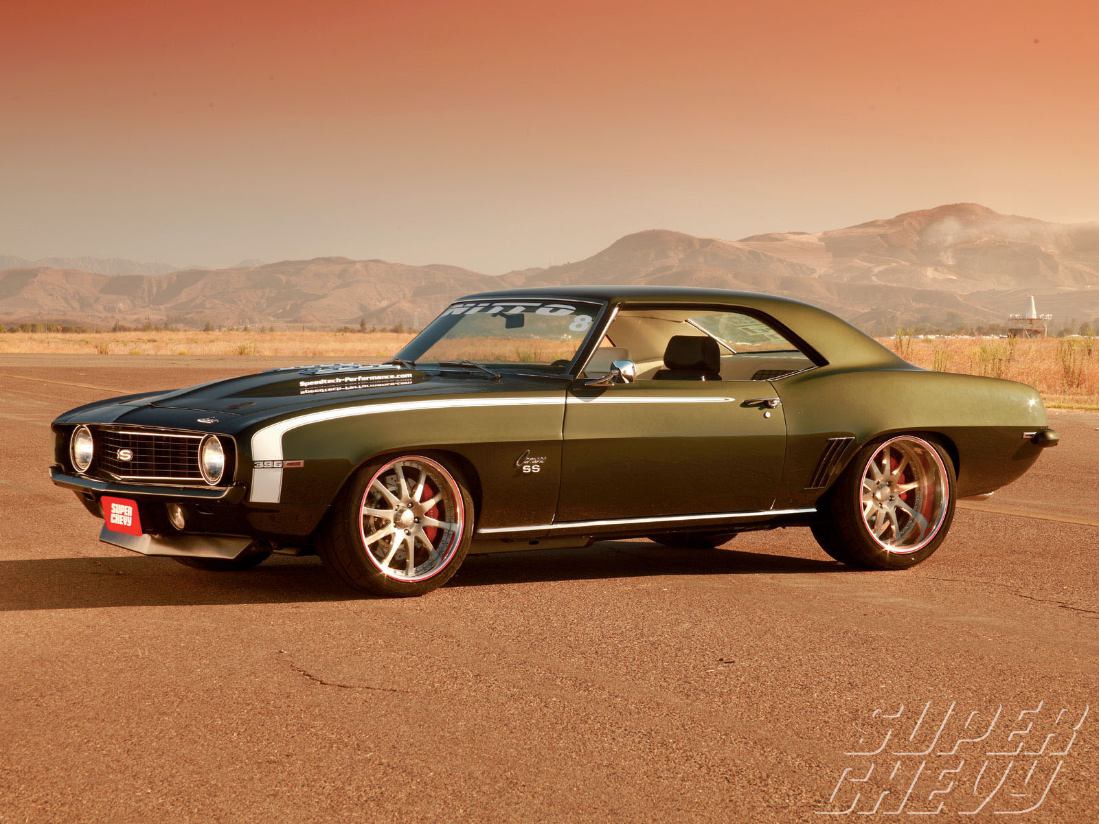 1969 Chevy Camaro SS HD Wallpaper – Image Detail