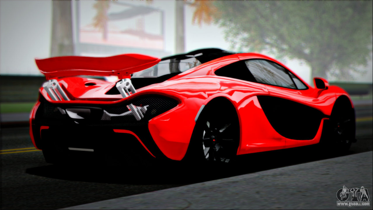 McLaren P1 2014 for GTA San Andreas left view