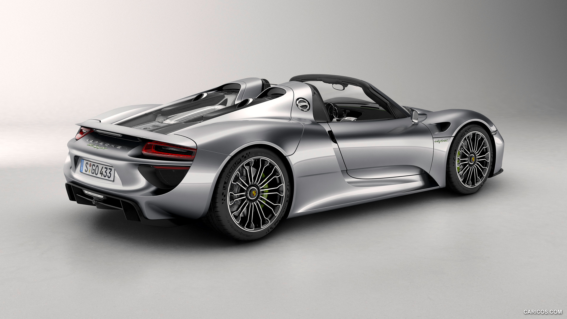 2014 Porsche 918 Spyder - Rear Wallpaper