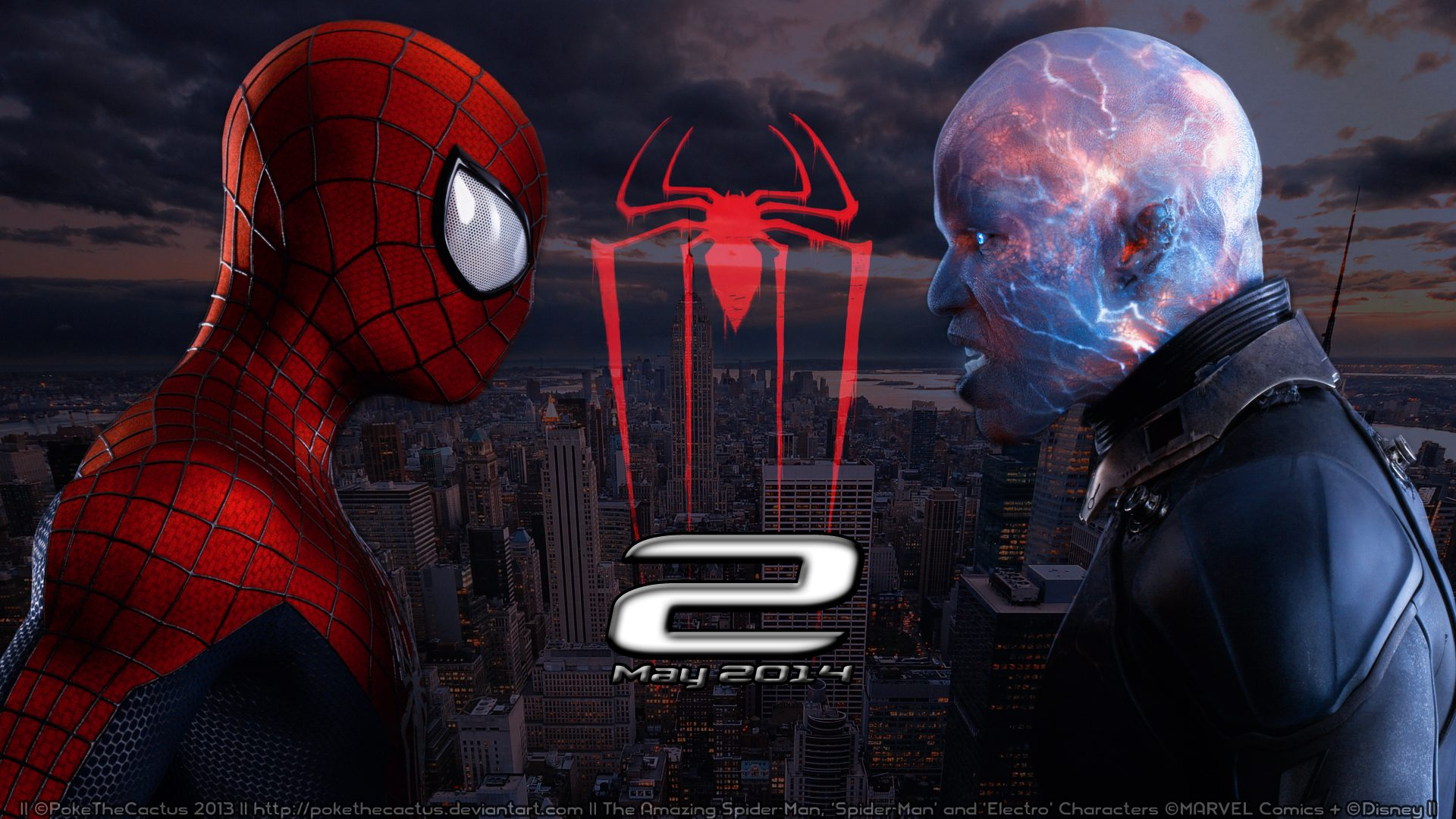 2014 spiderman movie