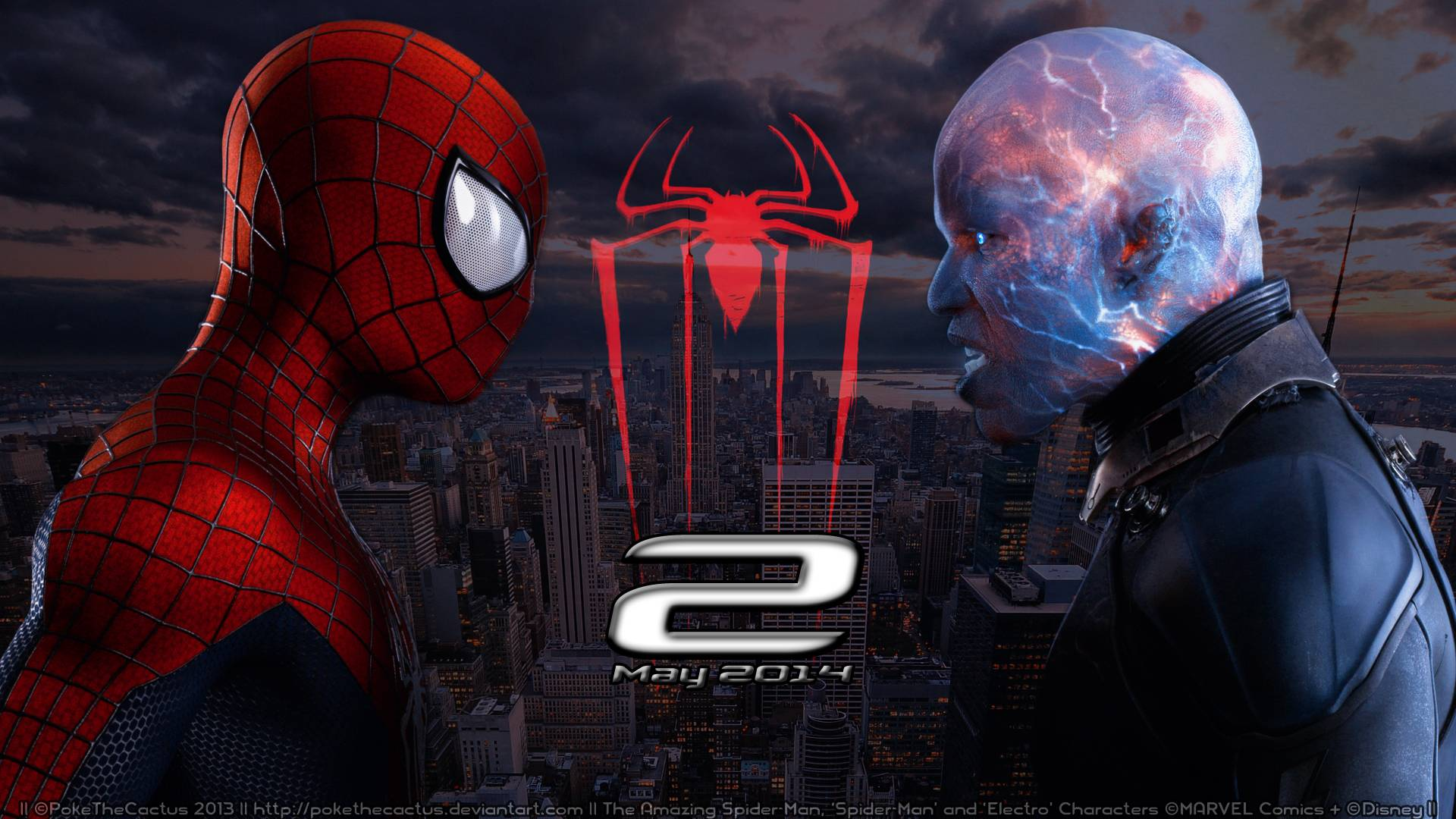 2014 The Amazing Spider Man Wallpaper 1920x1080 28268