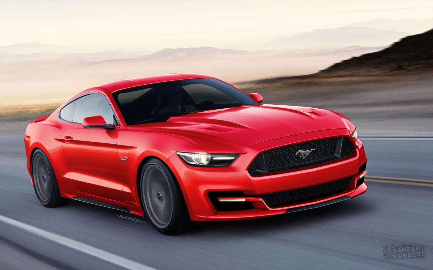 2015 Ford Mustang renderings - photo gallery