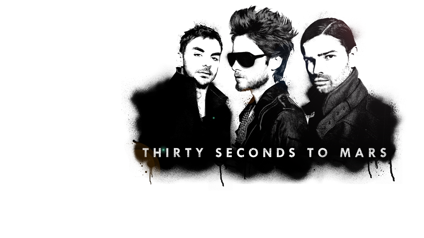 30 Seconds To Mars Wallpaper 1366x768 5601