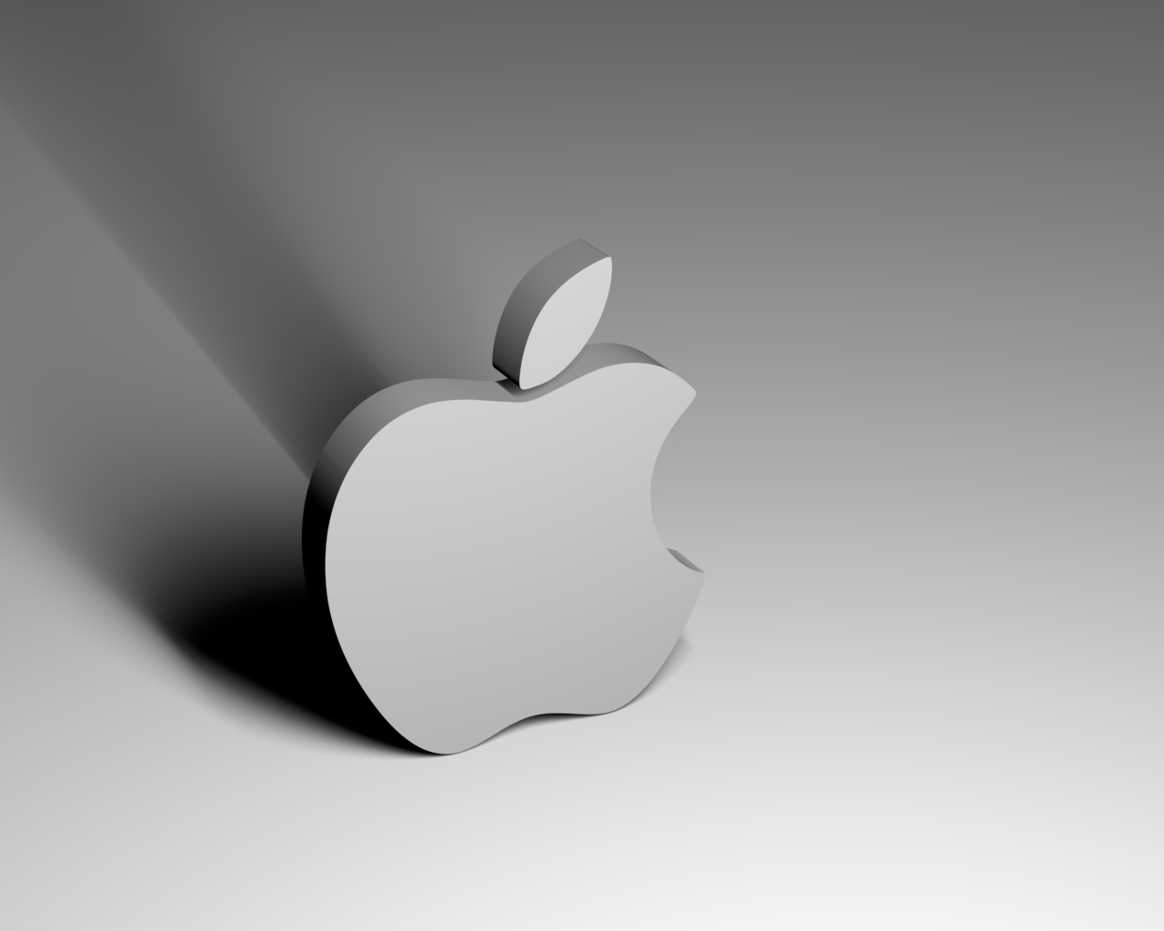 3D Apple Wallpaper