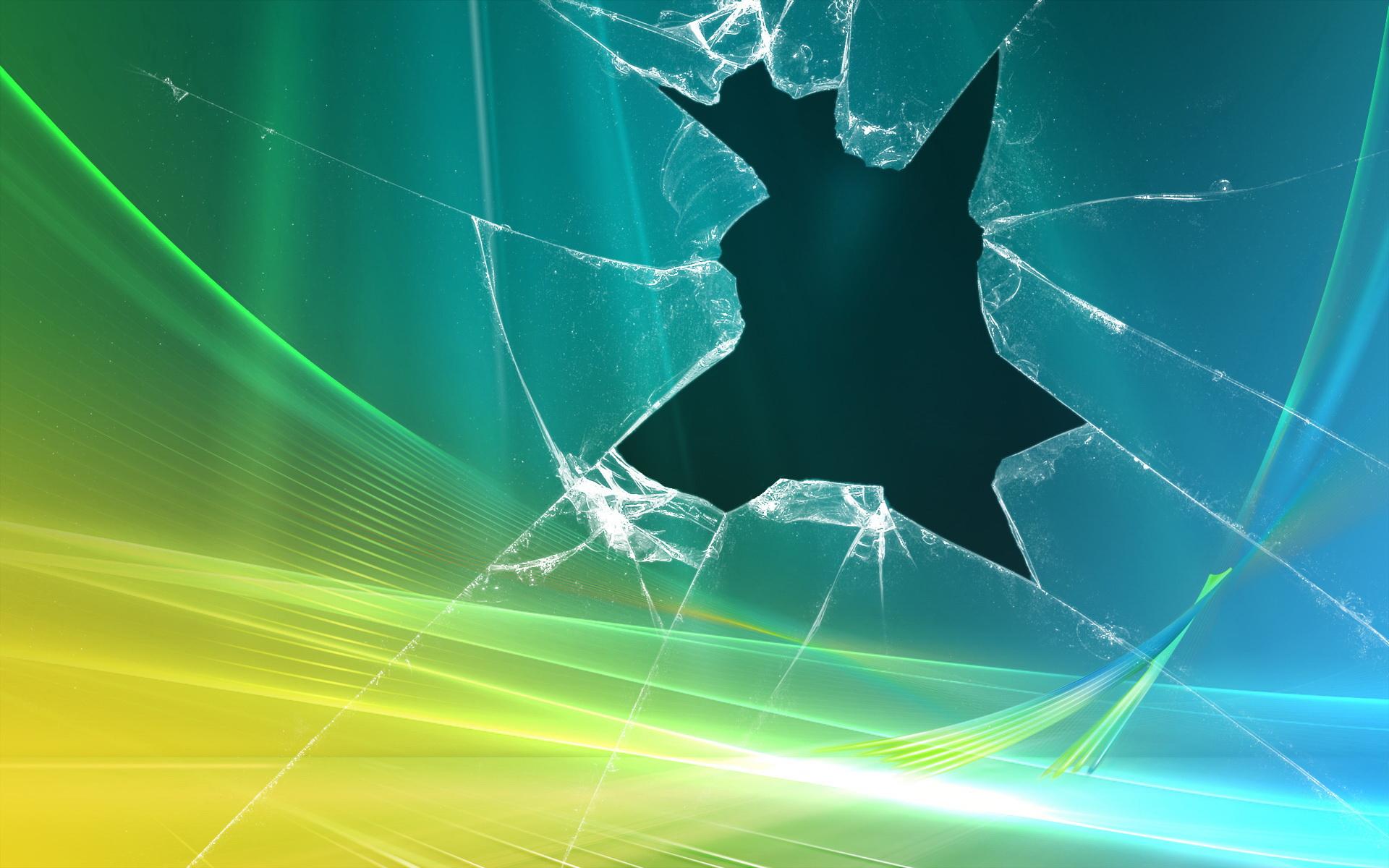 3D Broken Glass