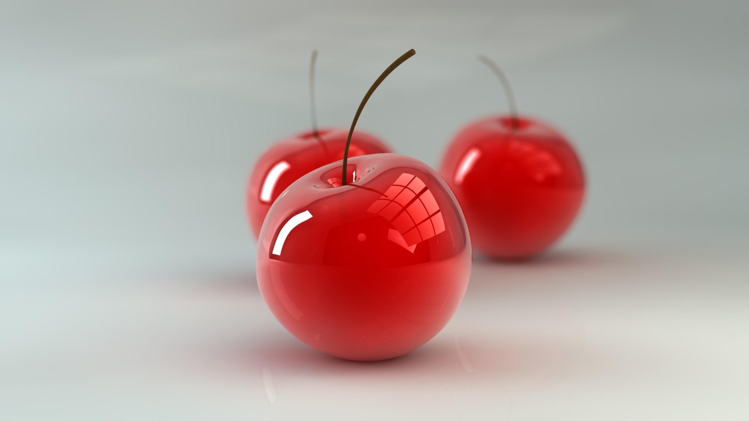 3D Cherry Glass