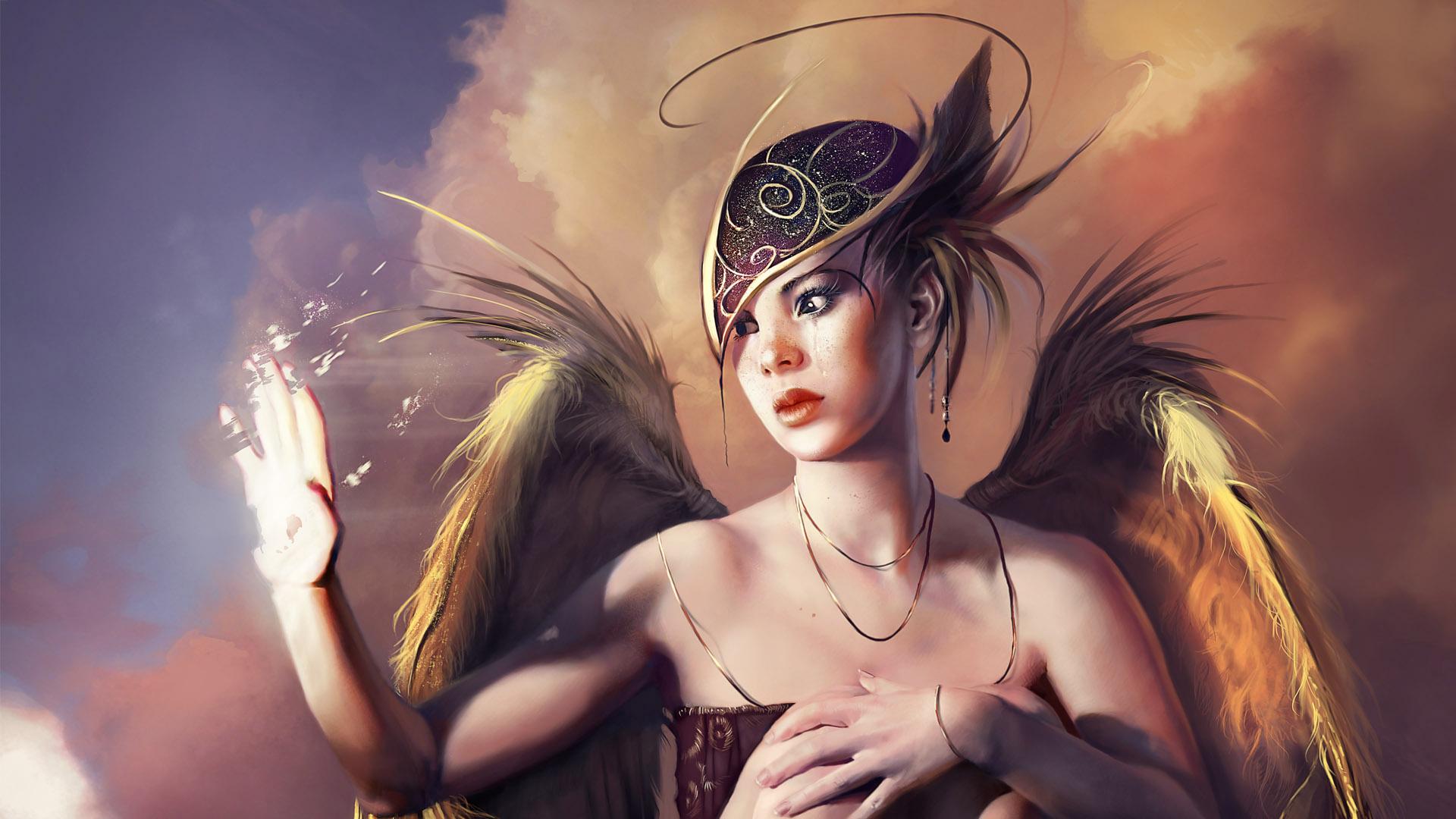 3d Fantasy Girls Wallpaper 1920x1080 56833
