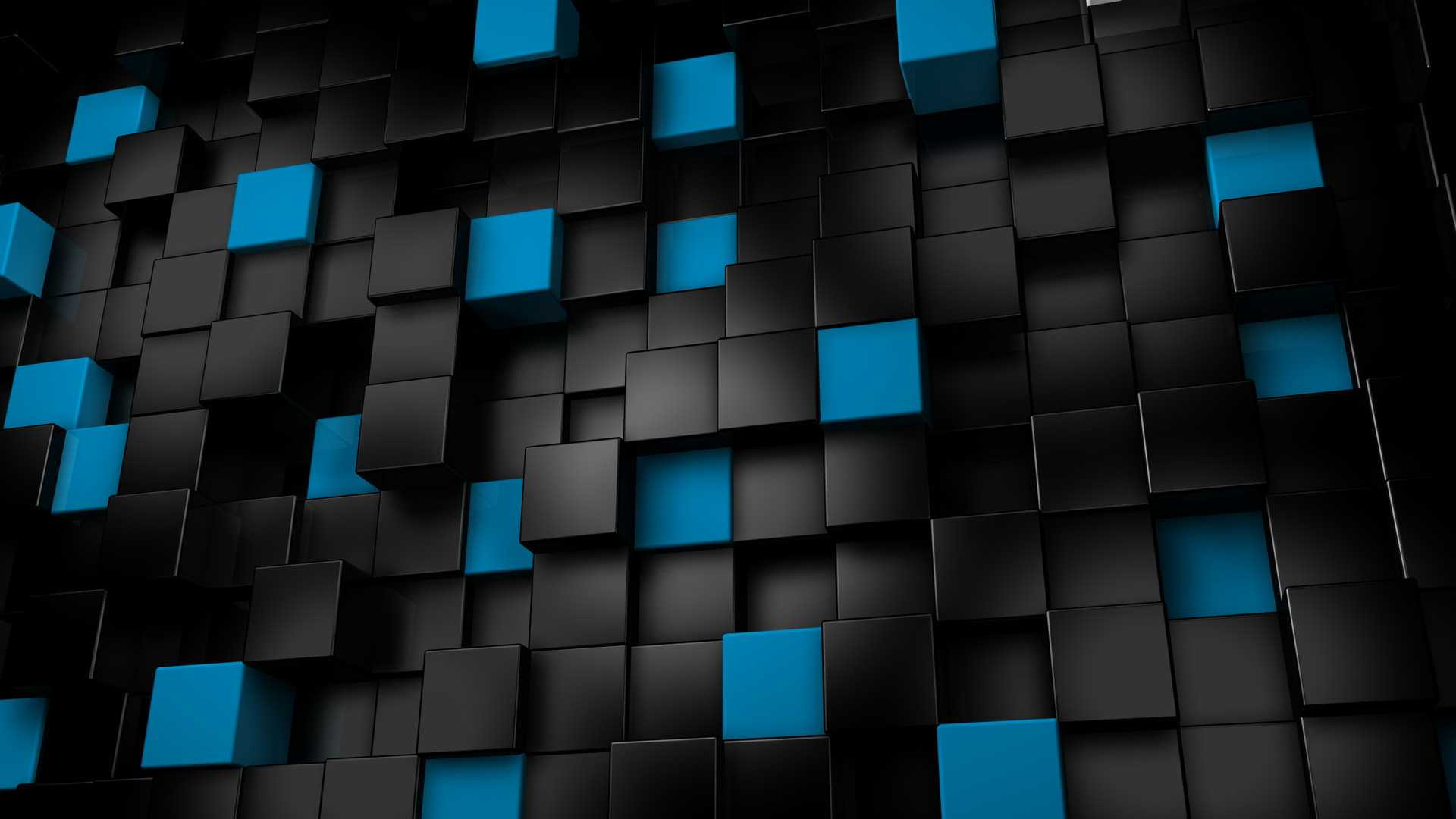 3D Honeycomb Wallpaper