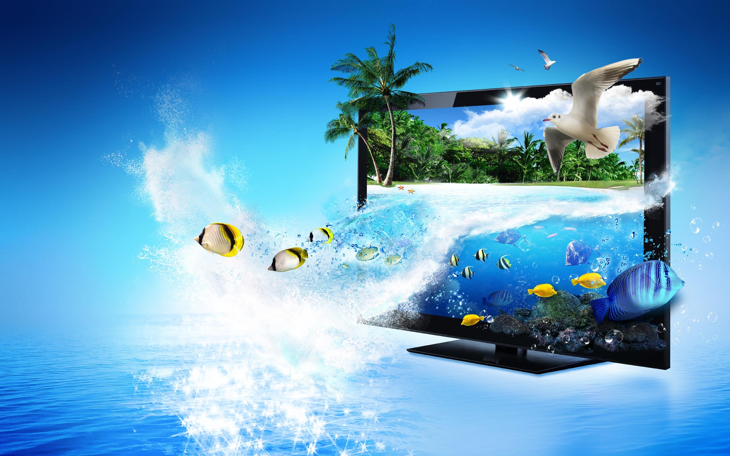 3D TV FISH
