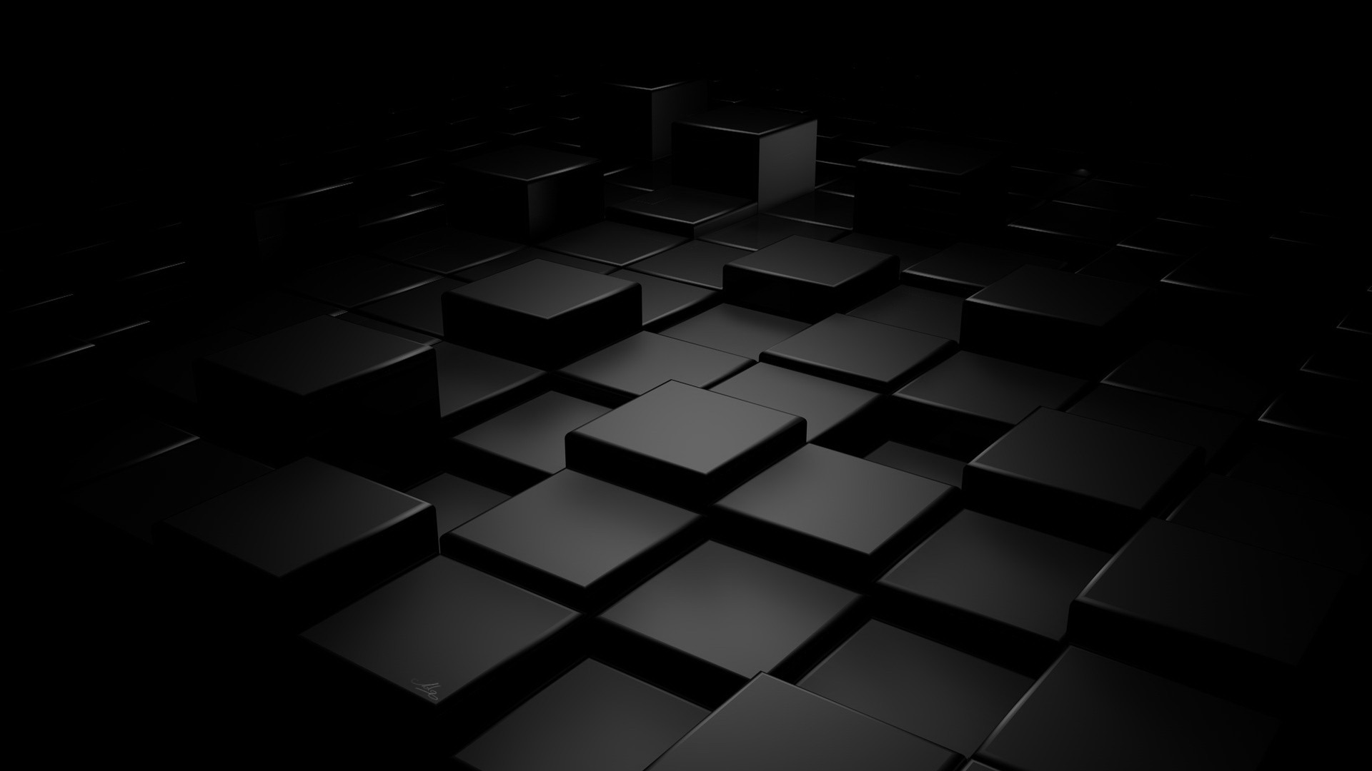 3d wallpaper 1920x1080 35160 for Black 3d wallpaper