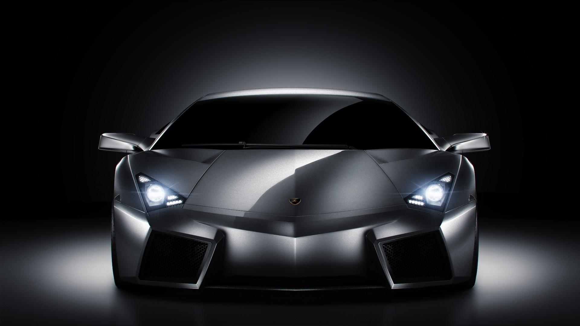 Lamborghini Reventon Silver 3d Wallpaper