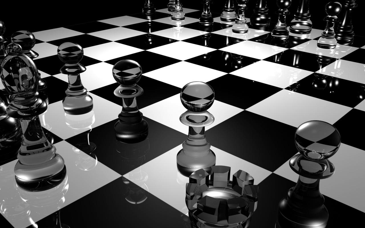 3d chess amaizing widescreen desktop backgrounds