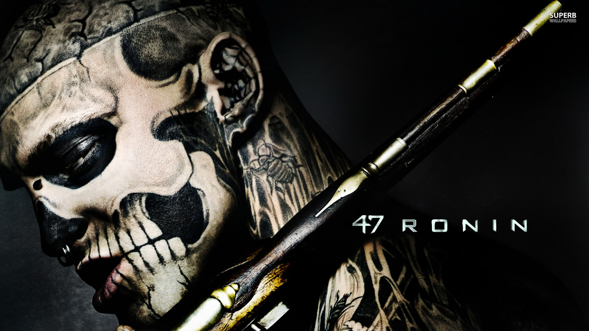 This character features heavily in the marketing for 47 Ronin, but is basically non-