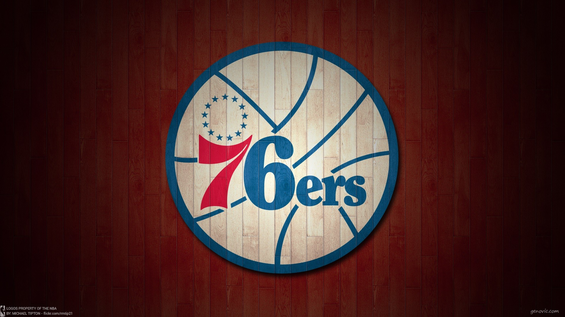 76ers Logo HD Wallpaper