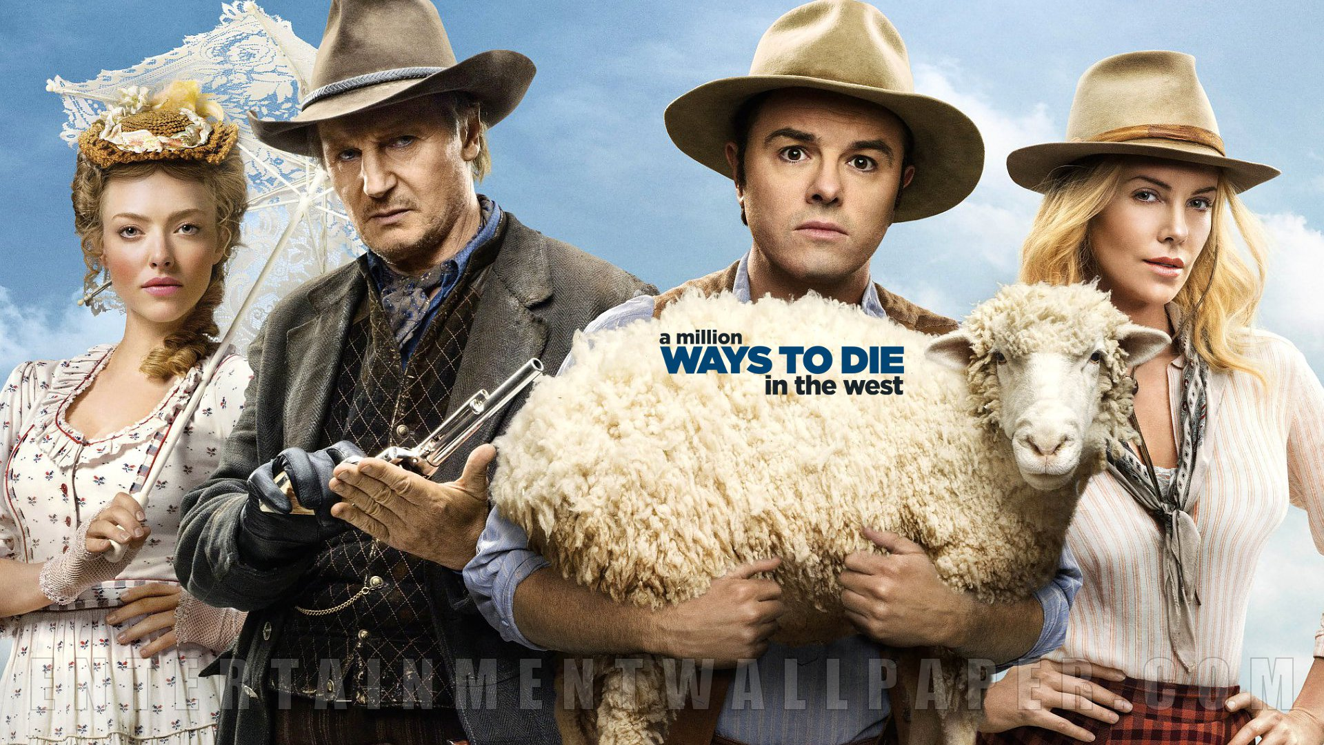 A Million Ways to Die in the West Wallpaper - Original size, download now.