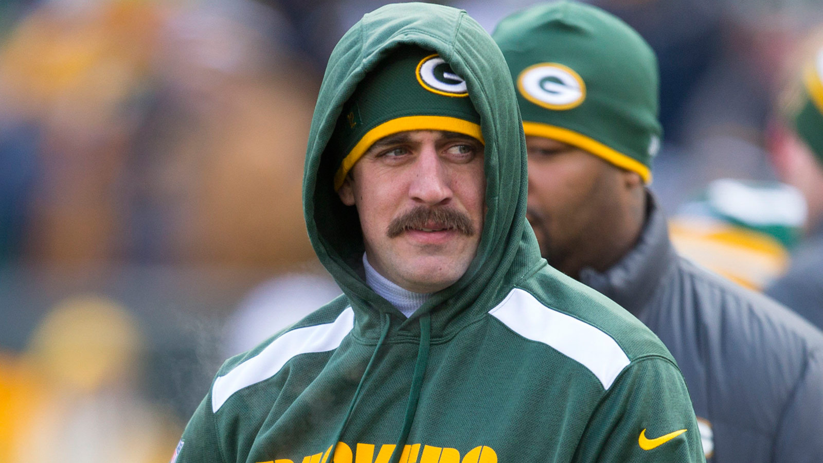 Aaron Rodgers Lookalike is Tom Wrigglesworth