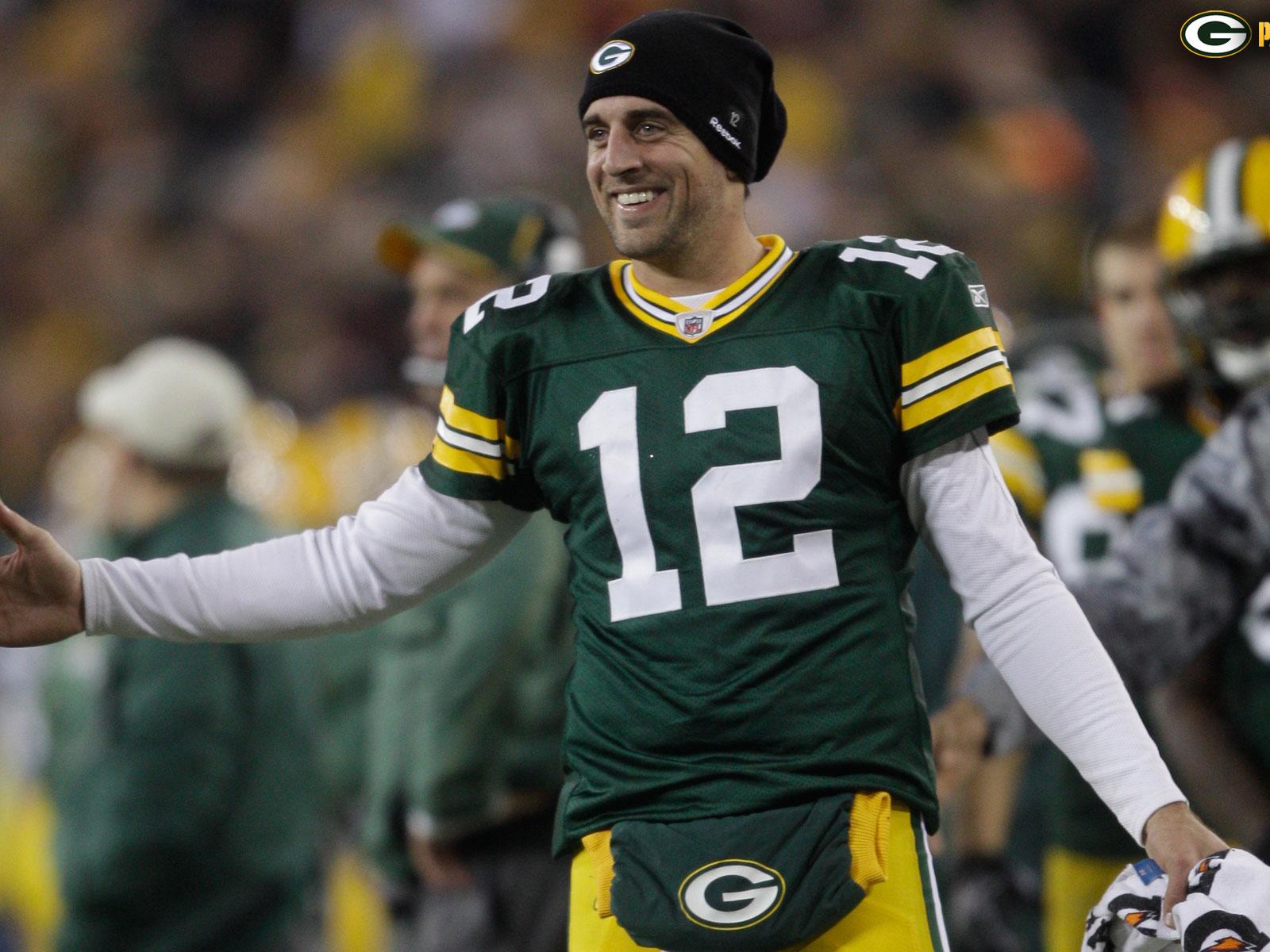 NFL Green Bay Packers Aaron Rodgers 1600x1200 DESKTOP