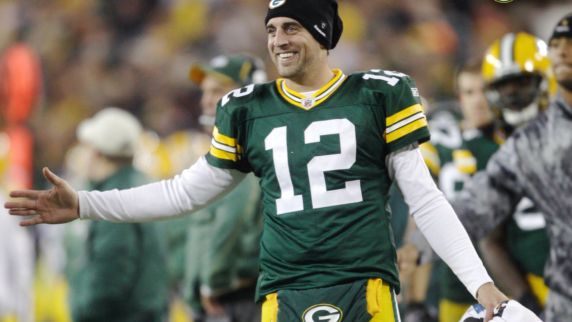 """According to ESPN's """"league sources"""", whoever that is, Aaron Rodgers' calf injury has been upgraded from a strain to a tear. His health is paramount for the ..."""
