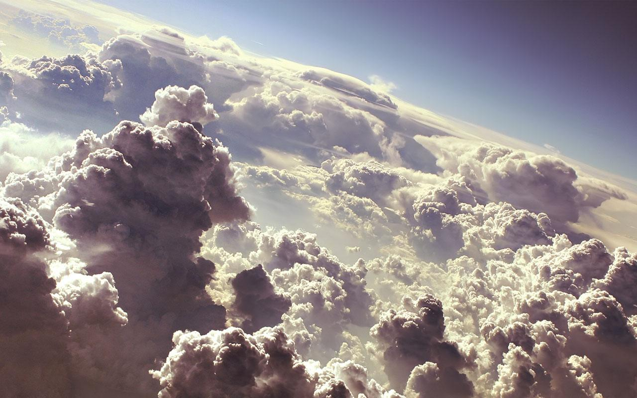 Above The Clouds Wallpaper 1280x800