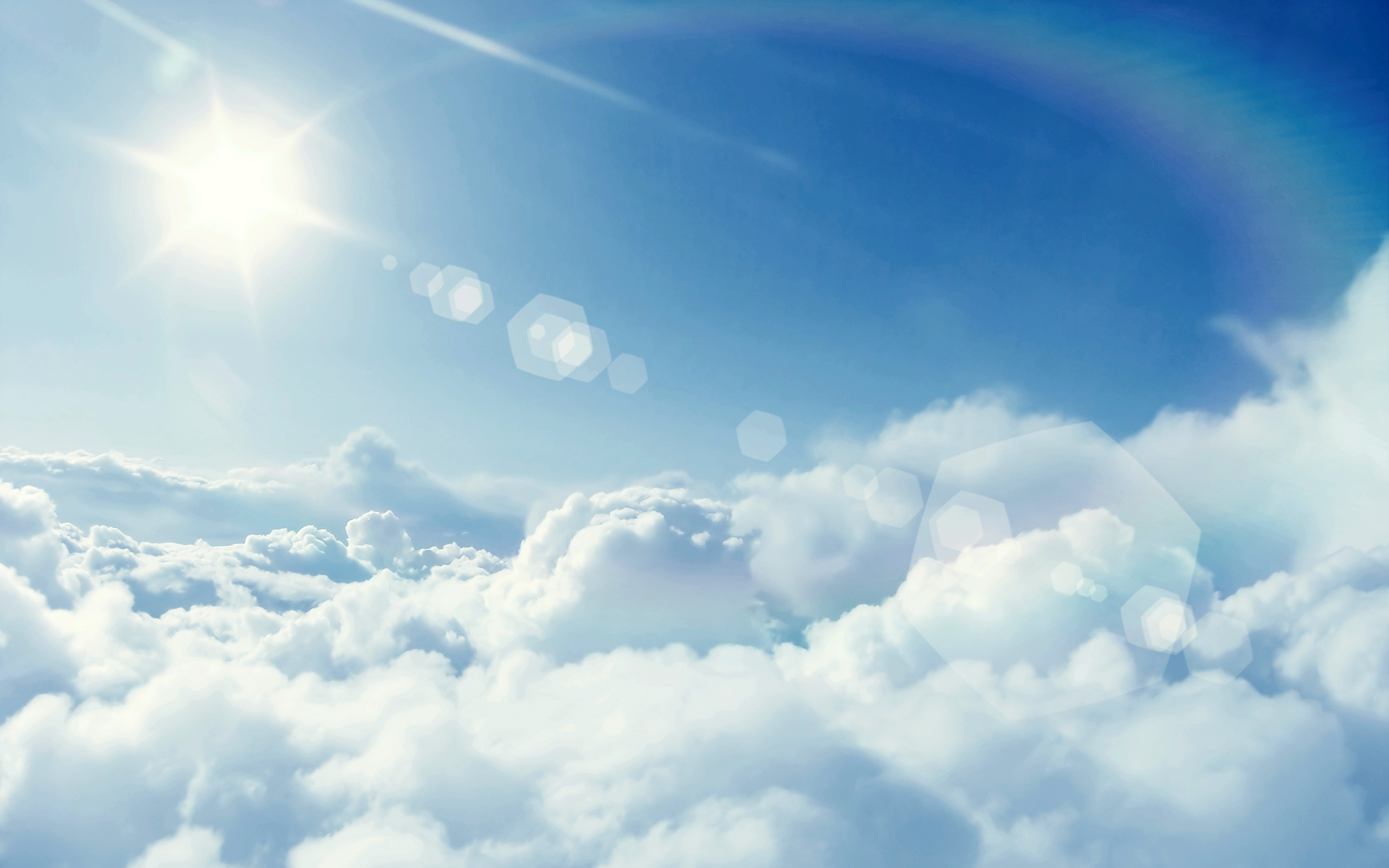Above the Clouds Wallpaper