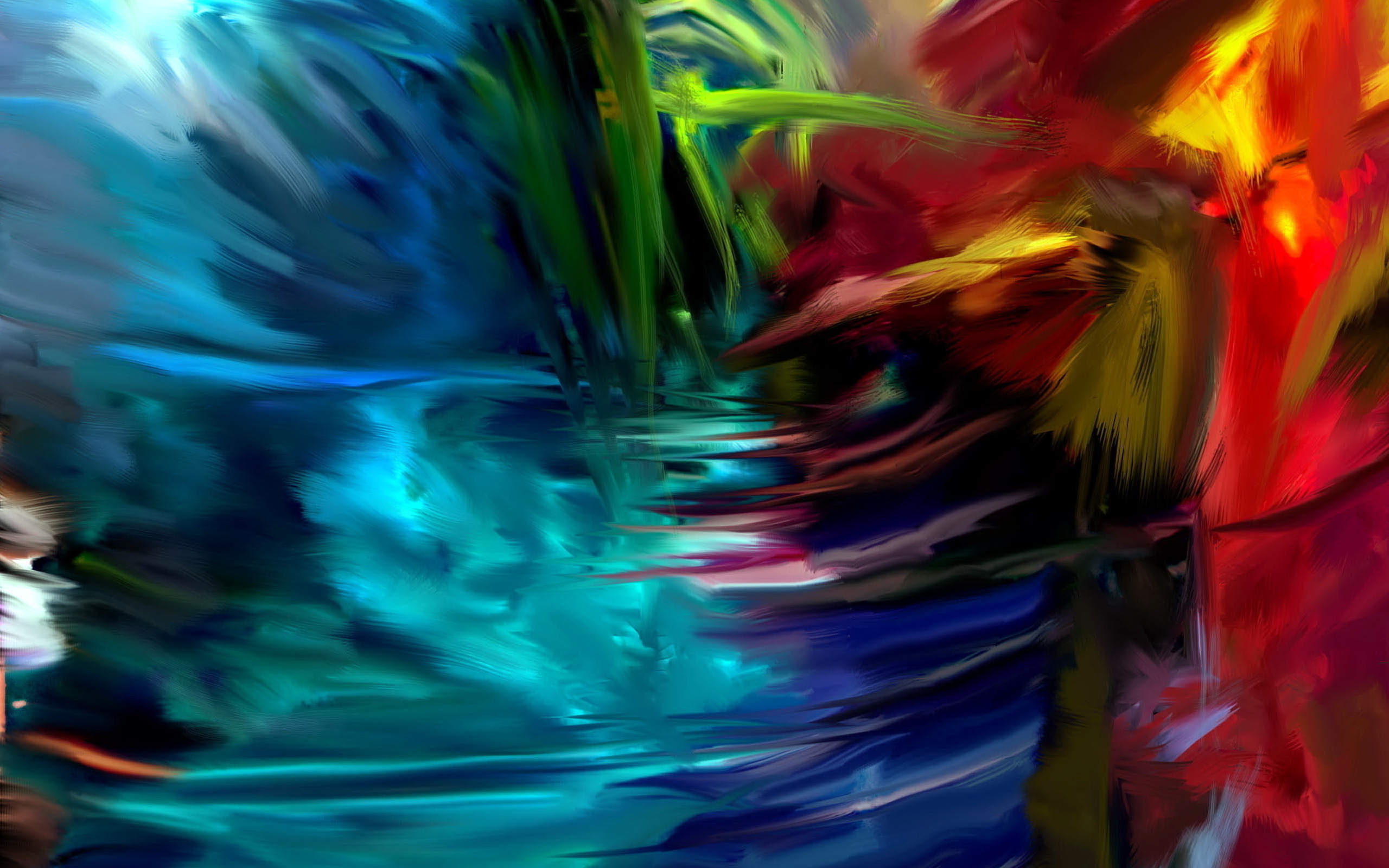 Abstract artistic art