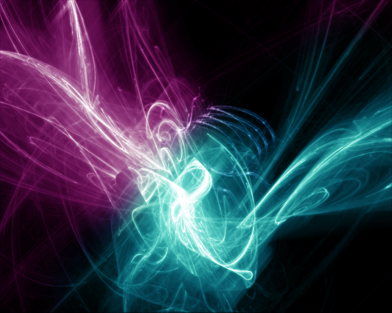 Abstract Glowing Wallpaper 4672