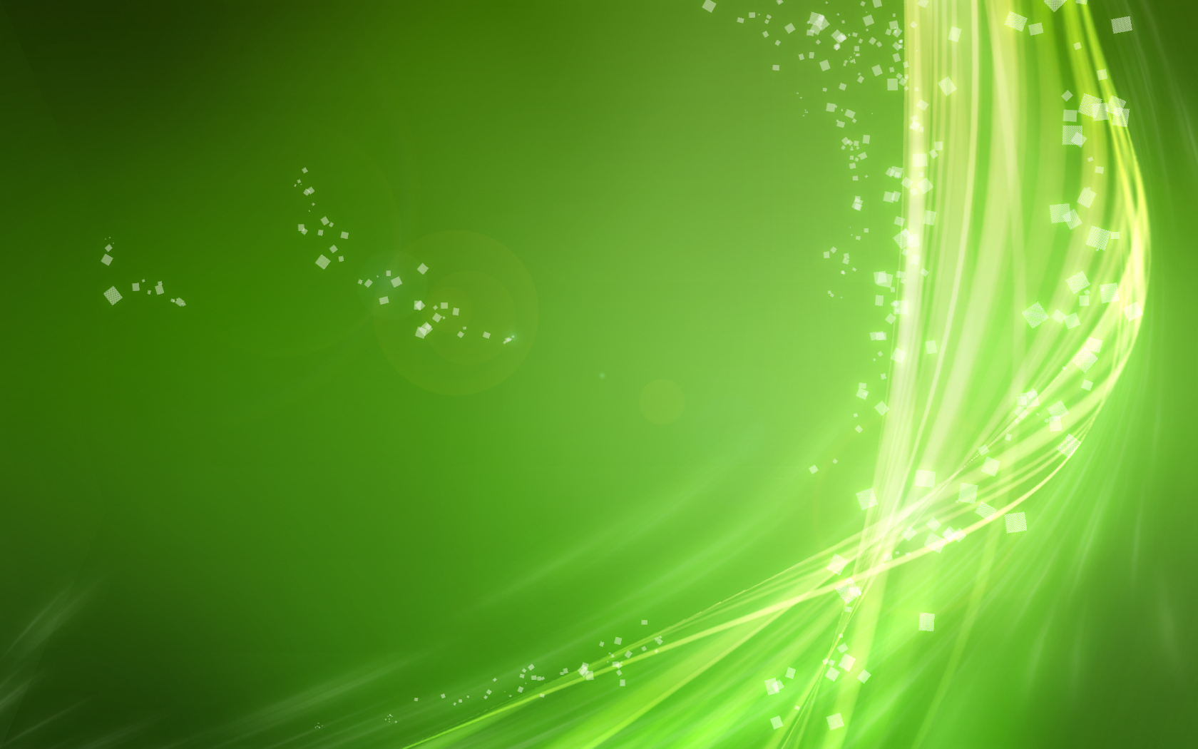 Abstract Green Wallpaper