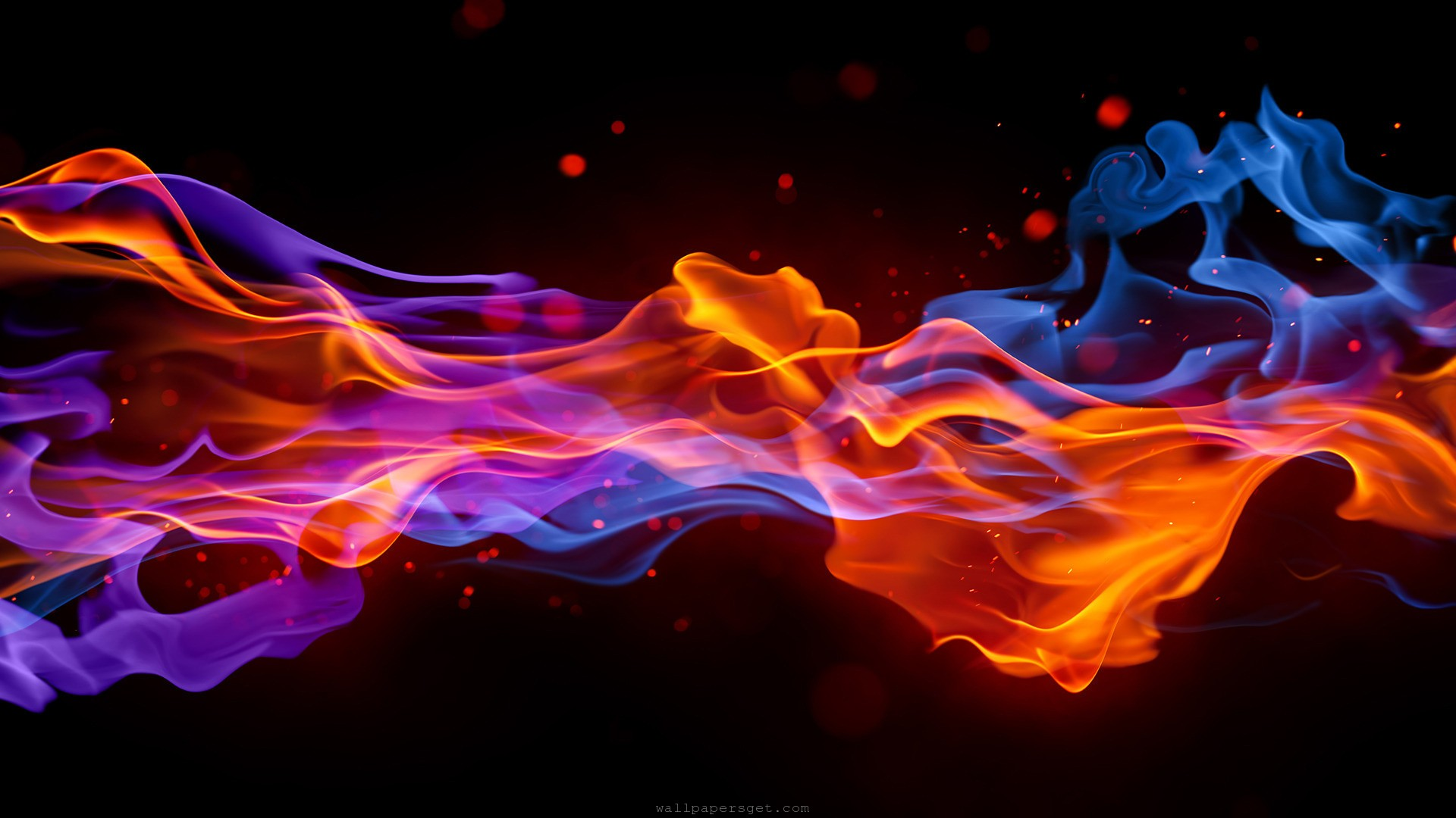 Abstract Smoke Wallpaper