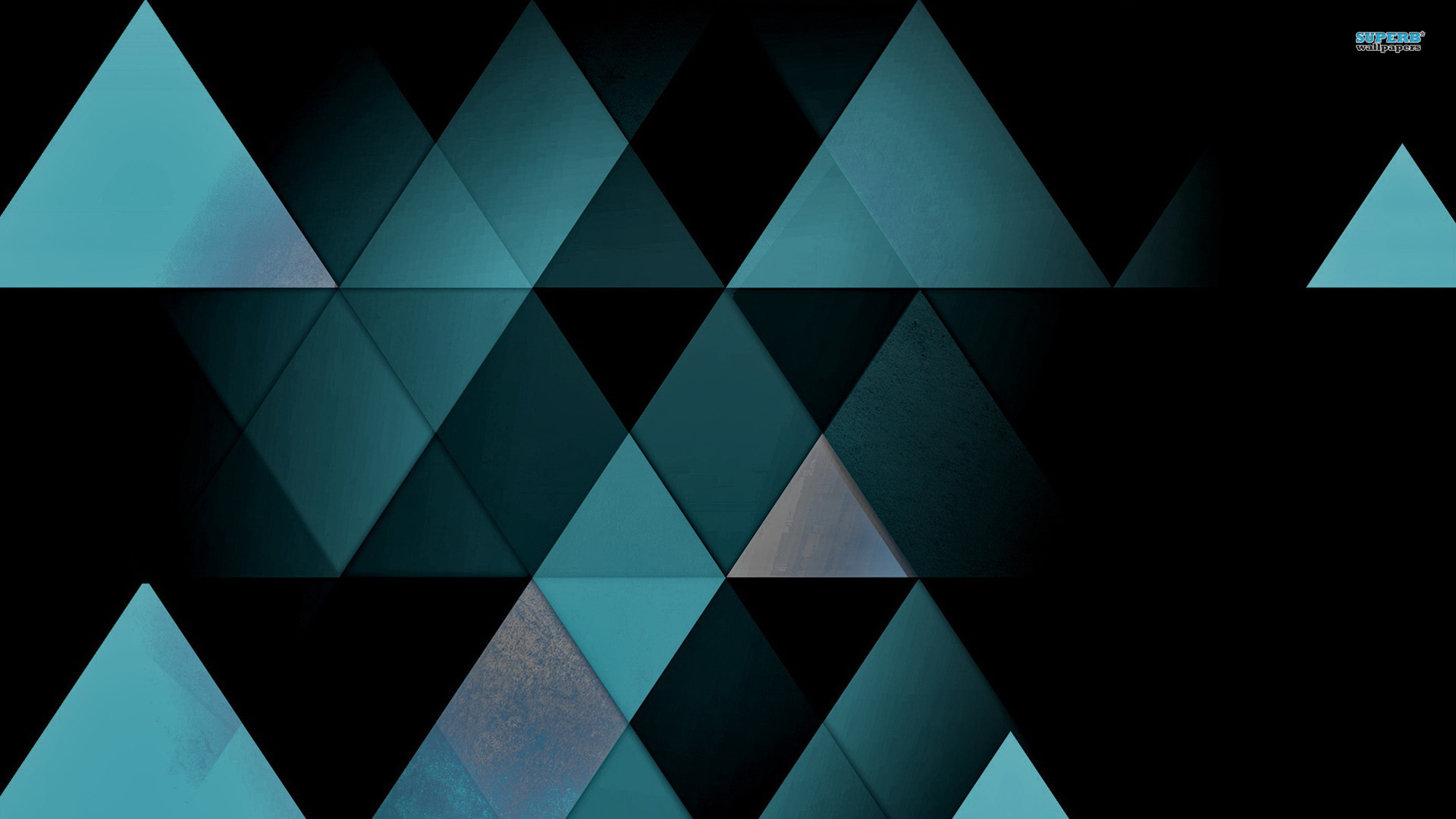 Mosaic triangles wallpaper 1920x1080
