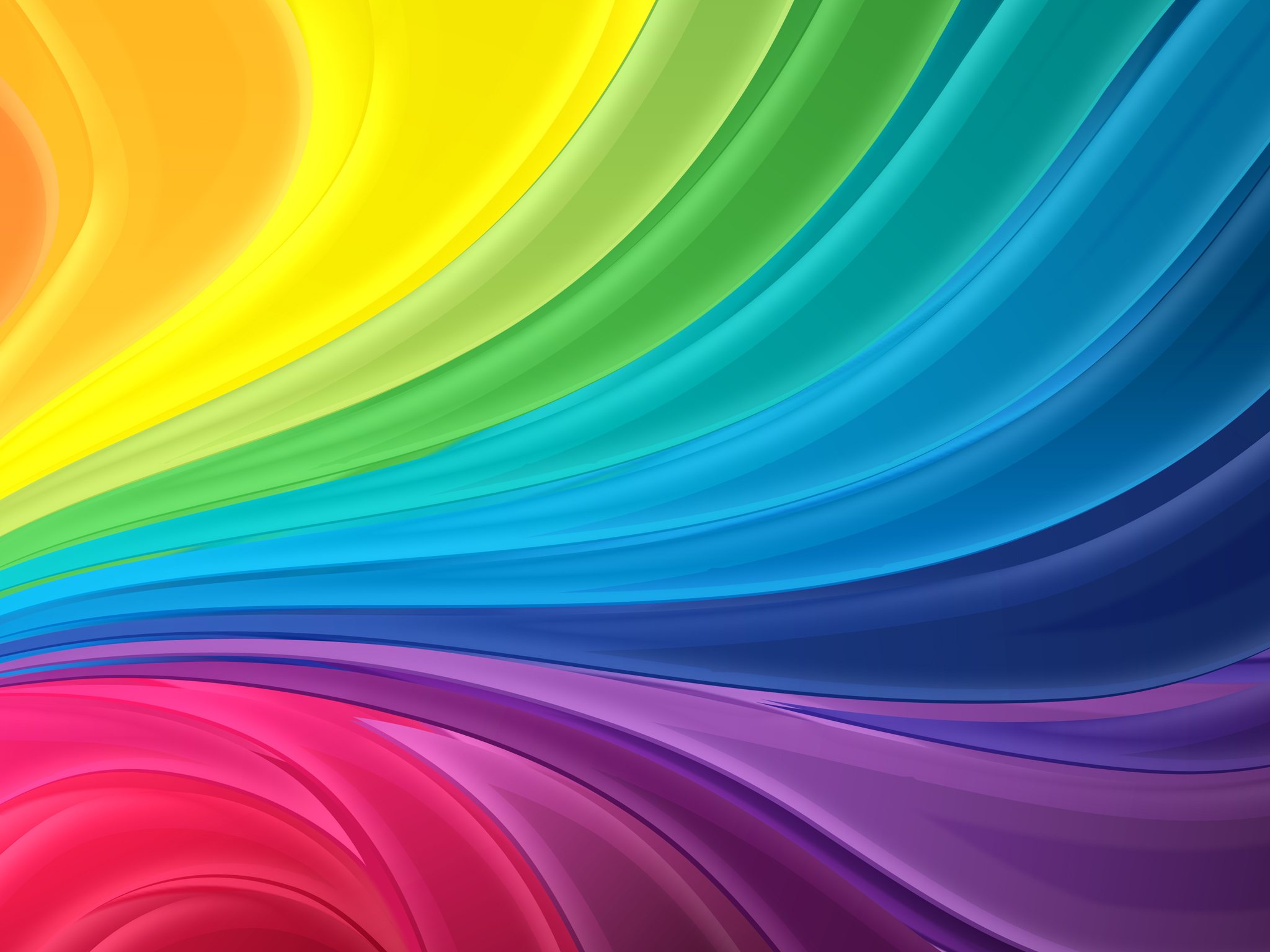 Click Image To Download Rainbow Abstract Wallpaper