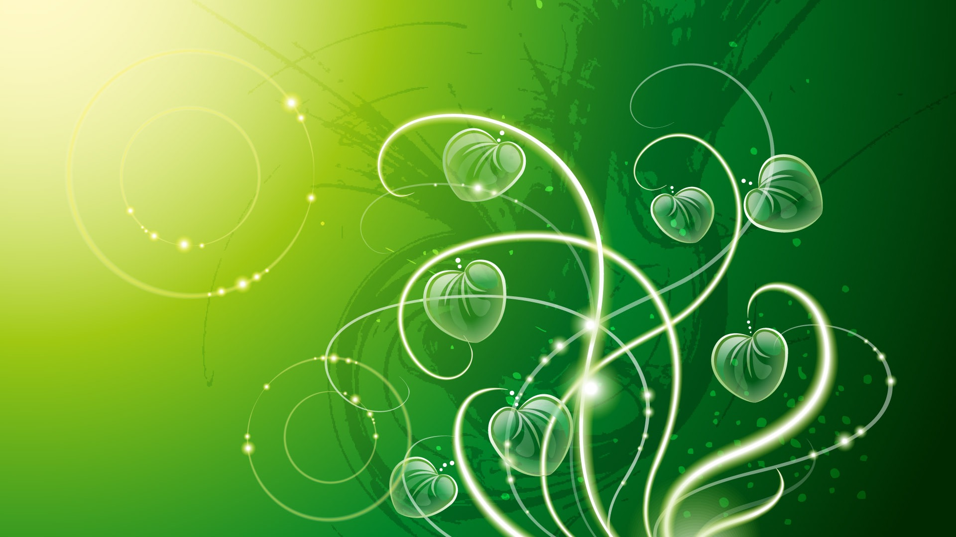 Abstract wallpapers green #9