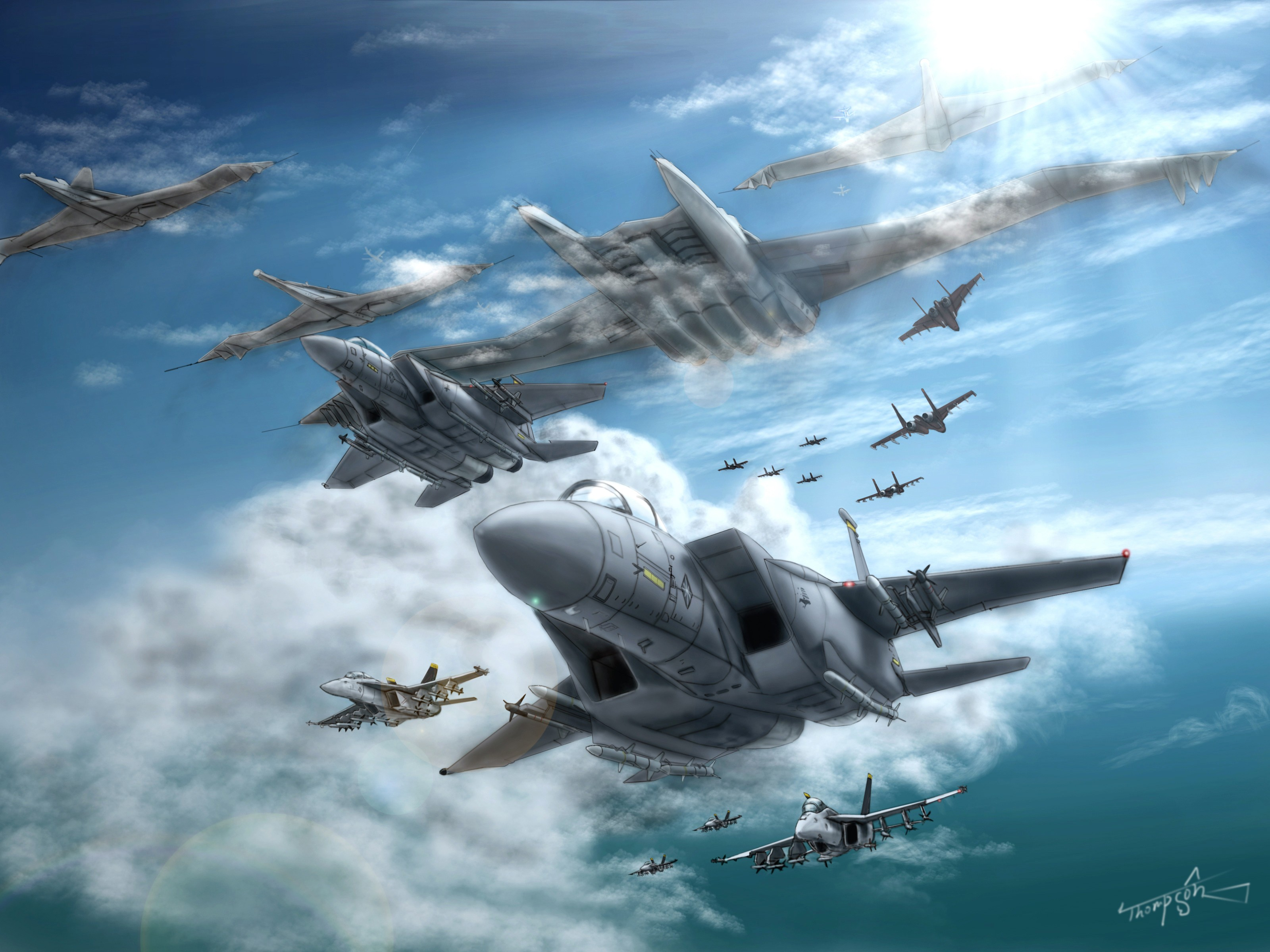 3200x2400 Video Game Ace Combat