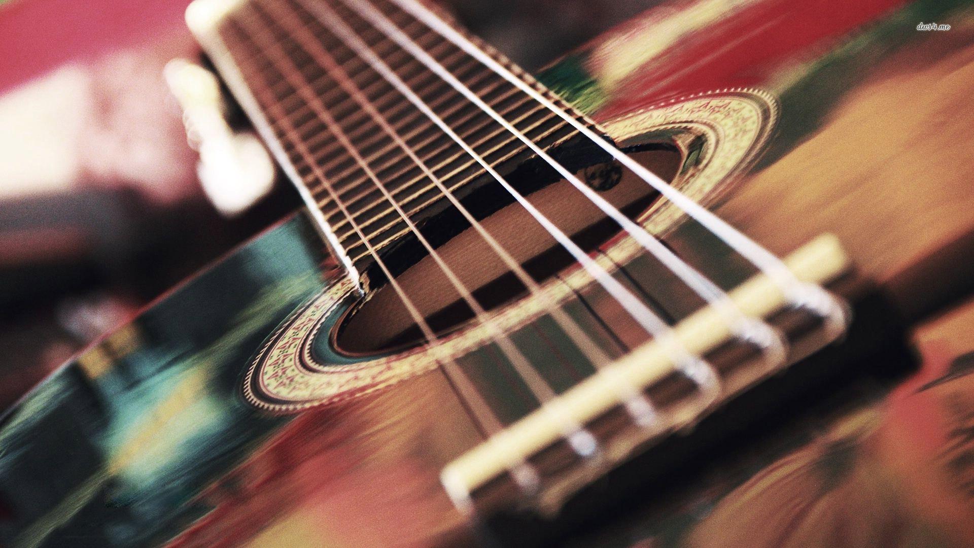 ... Acoustic guitar strings wallpaper 1920x1080 ...