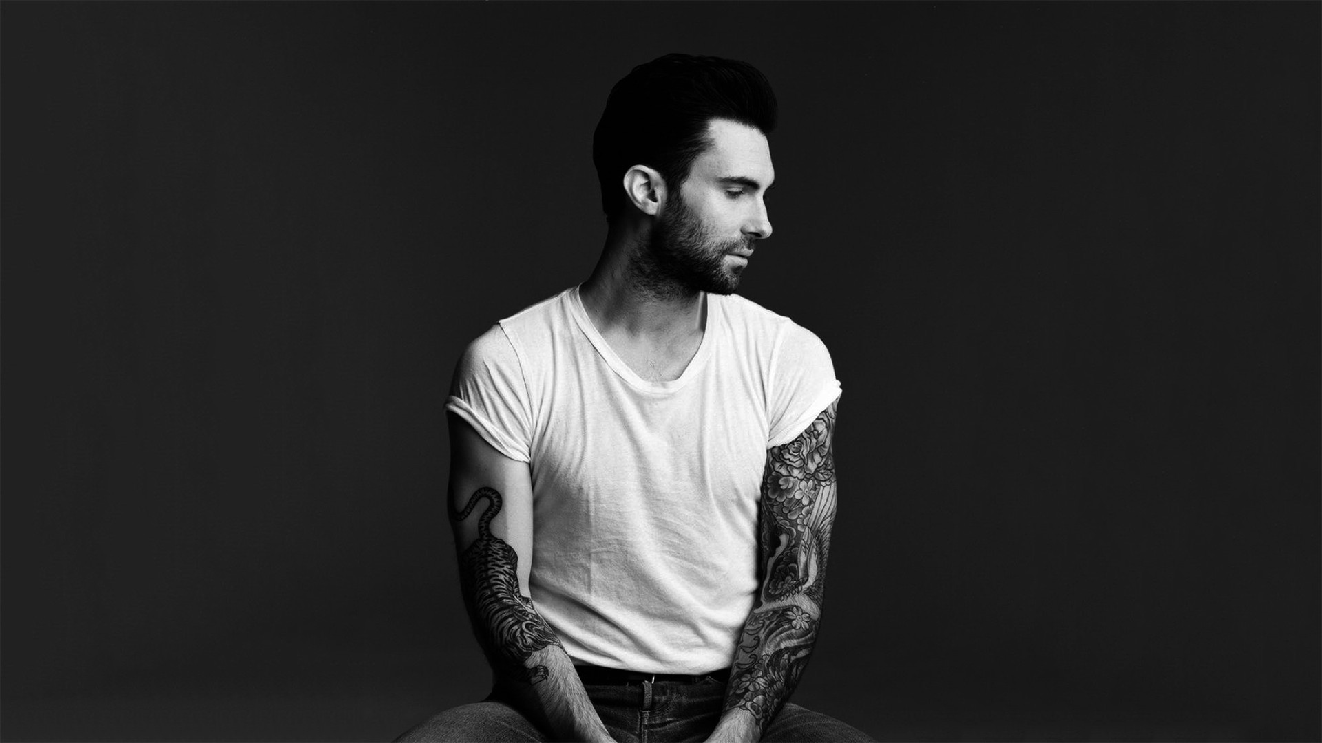 Please check our widescreen hd wallpaper below and bring beauty to your desktop. Adam Levine Wallpaper