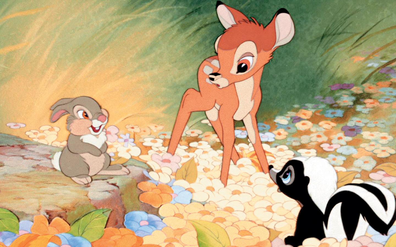 Adorable Bambi Wallpaper