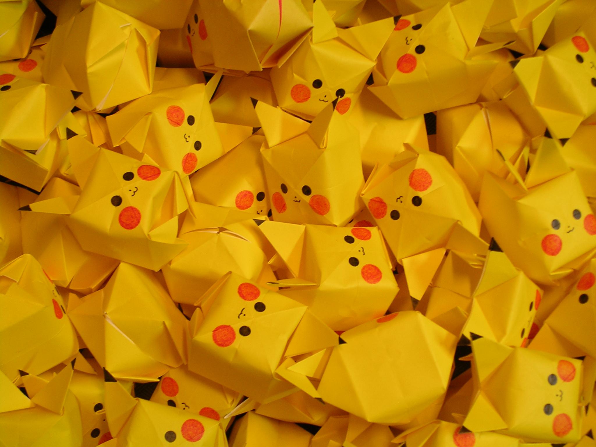 Adorable Origami Wallpaper