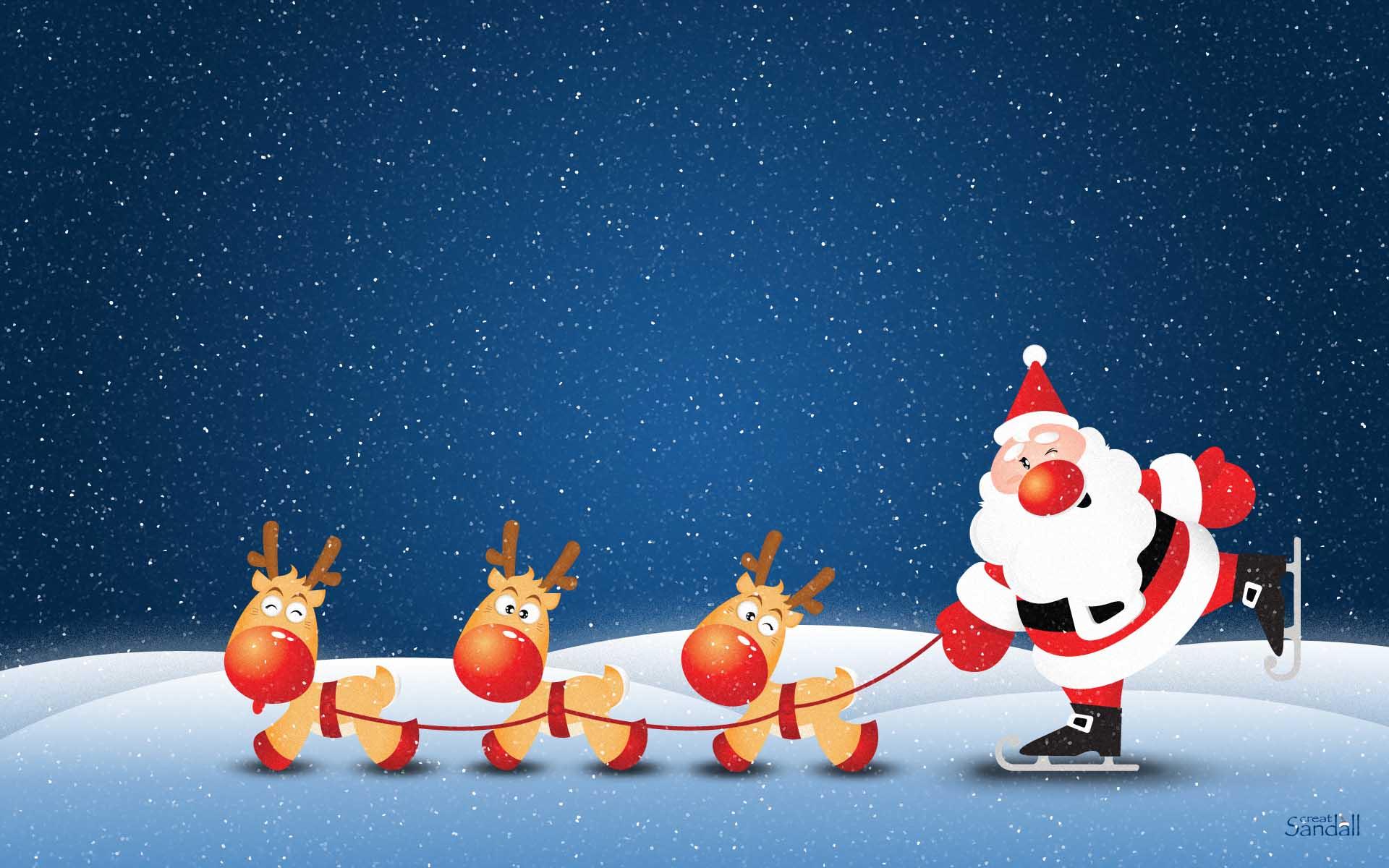 Adorable Santa Wallpaper