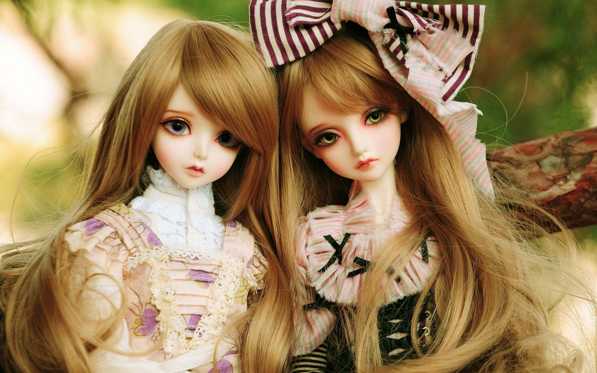 Adorable Toy Doll Wallpaper