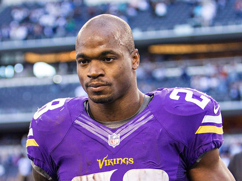Adrian Peterson: 'I Won't Ever Use a Switch ...