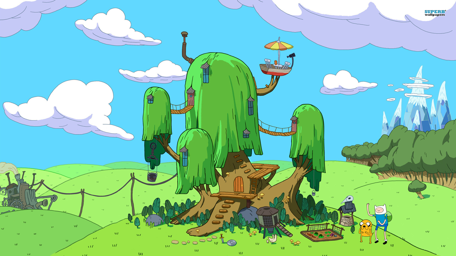 Adventure Time wallpaper 1920x1080 jpg