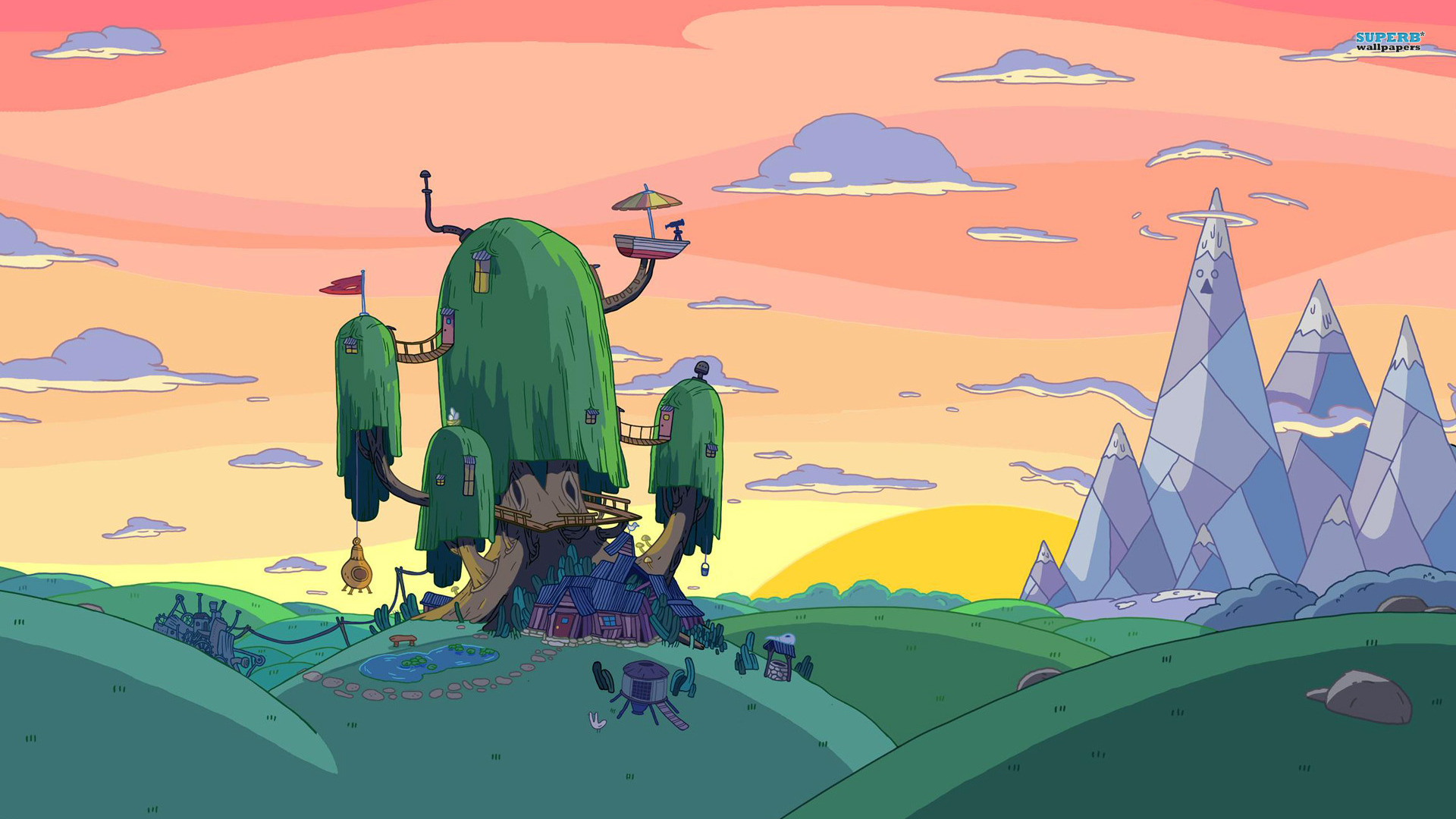 Adventure Time wallpaper 1920x1080