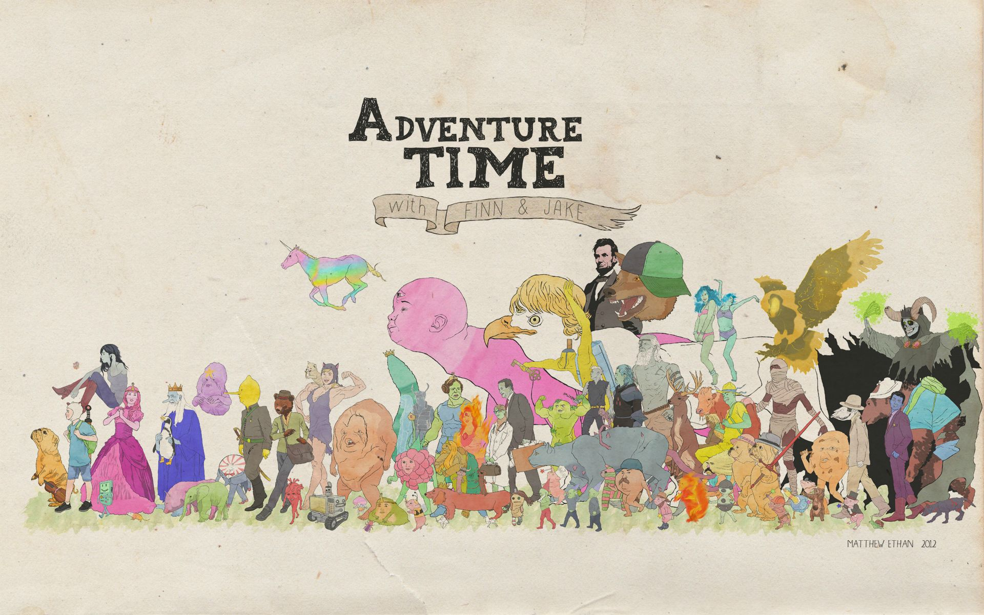 1920 x 1200 - 373k - jpg 3401 Adventure Time Wallpaper 1920X1200 ...