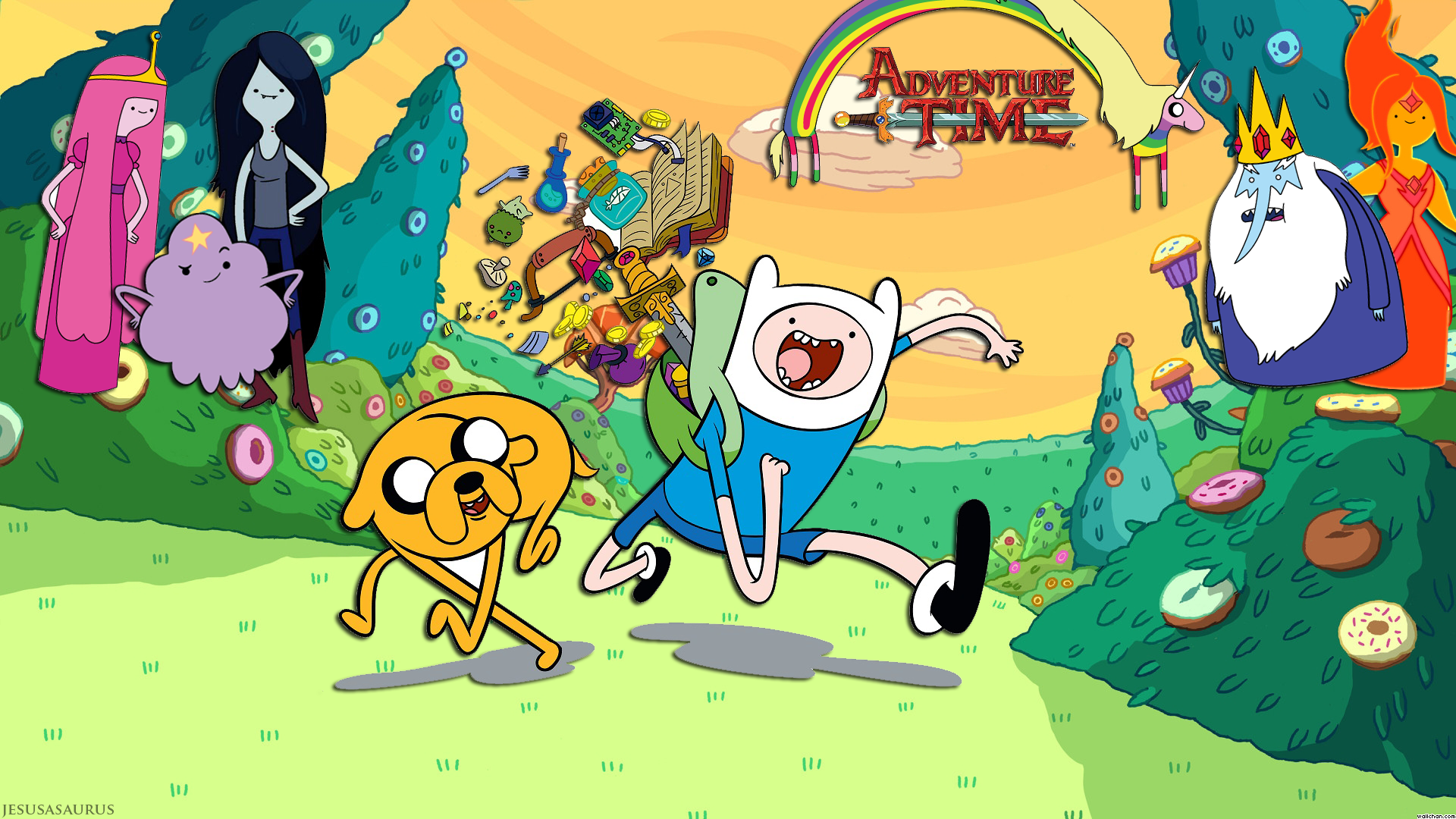 Adventure Time 1920x1080