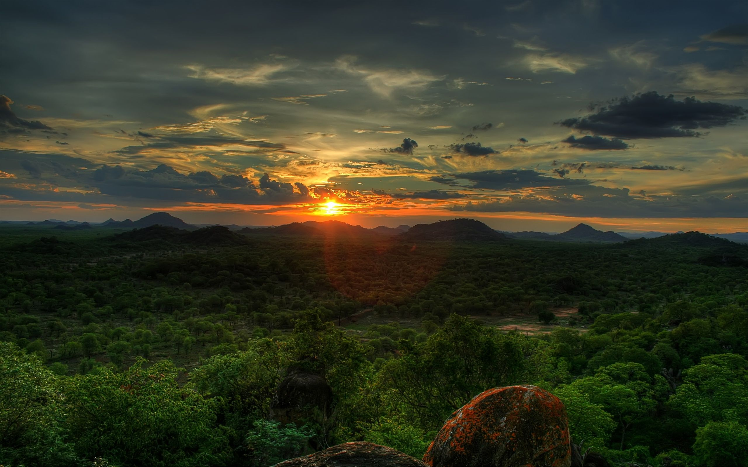 Africa Landscape Wallpaper