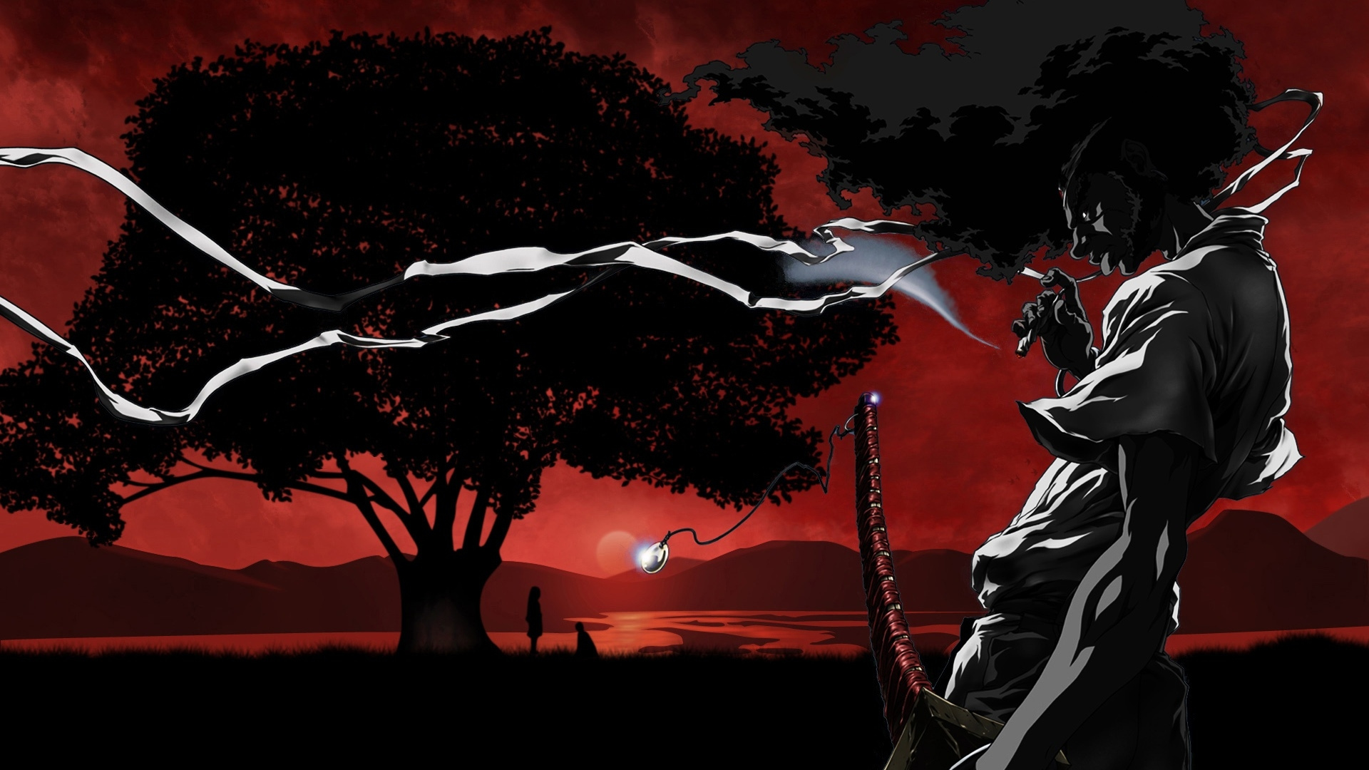 HD Wallpaper | Background ID:348496. 1920x1080 Anime Afro Samurai