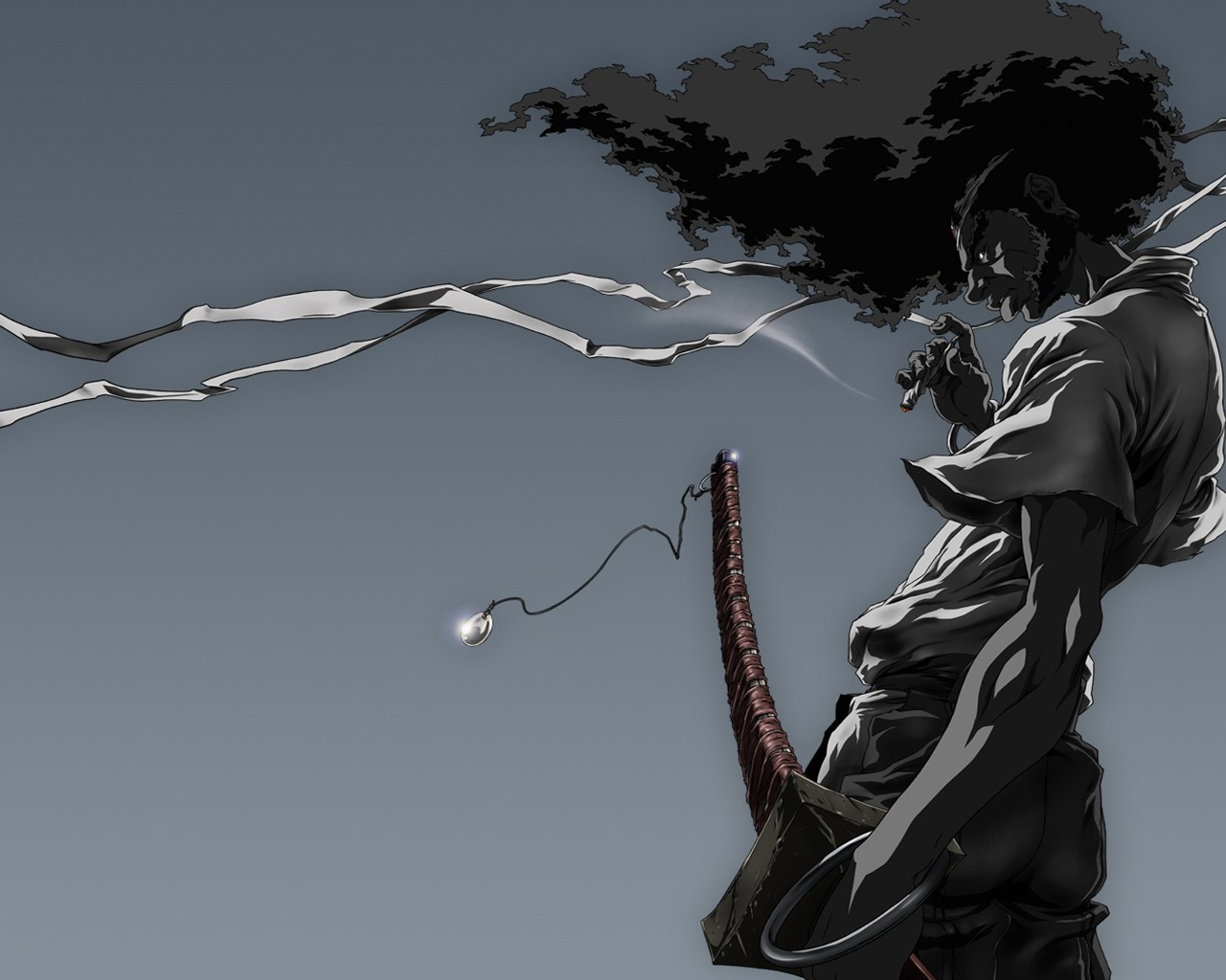 HD Wallpaper | Background ID:224670. 1280x1024 Anime Afro Samurai