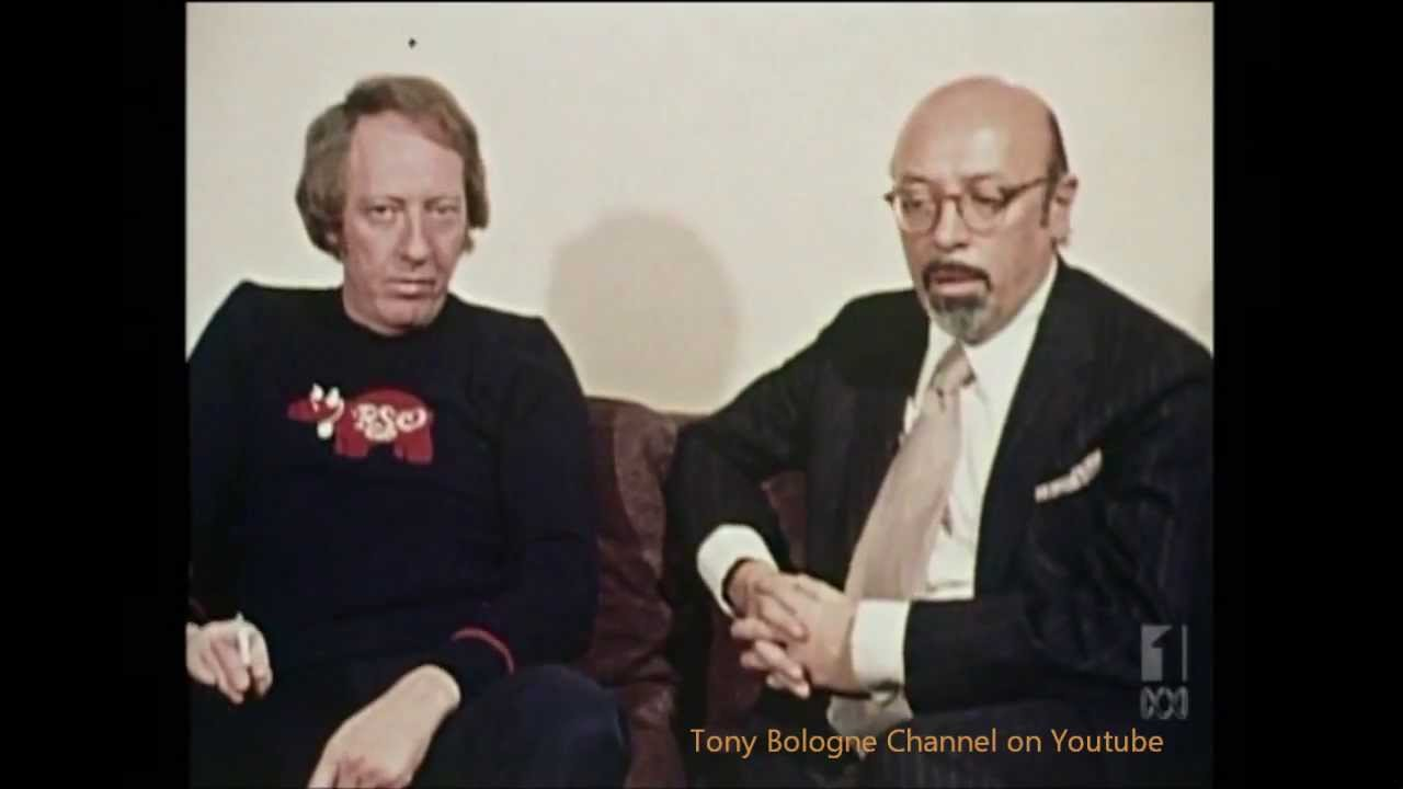 Robert Stigwood Manager Bee Gee's & Cream '73 + Ahmet Ertegun HD