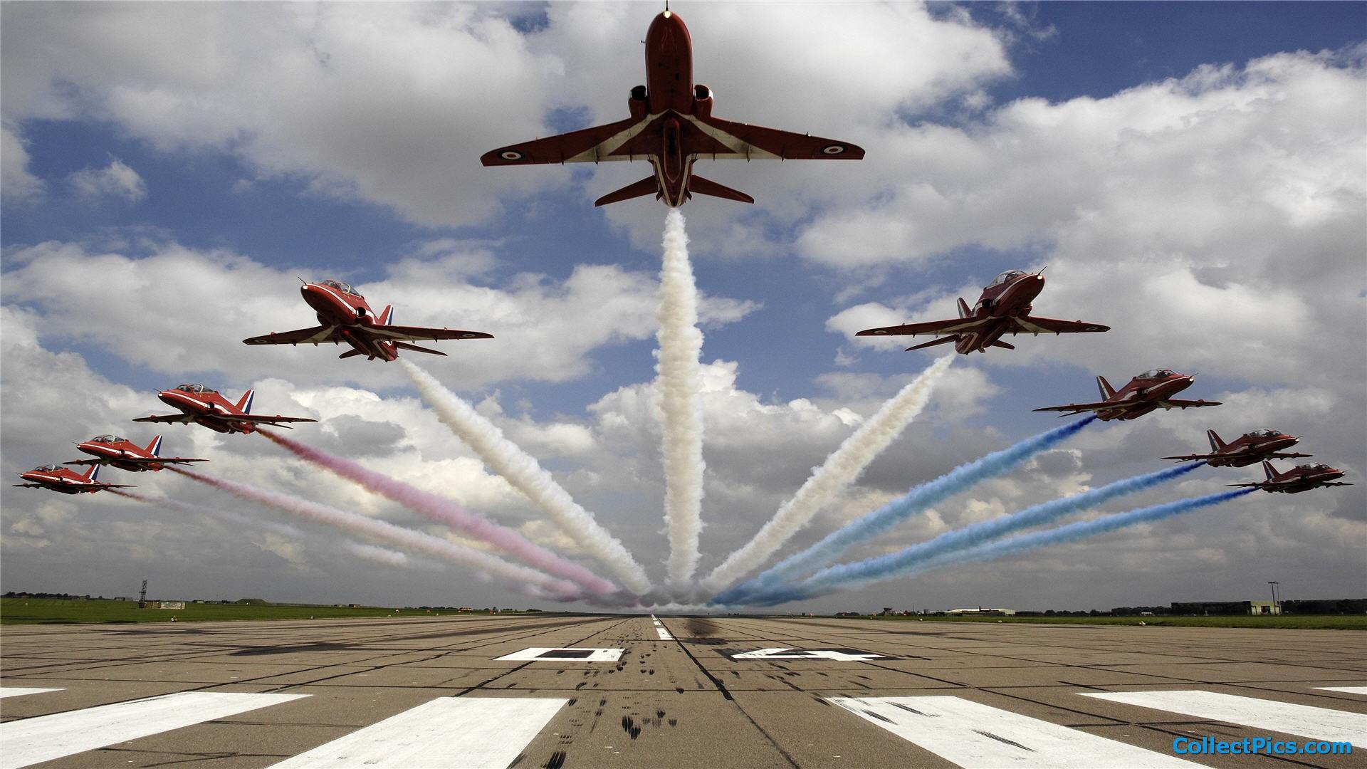 British Air Force Aerobatics Team HD wallpapers